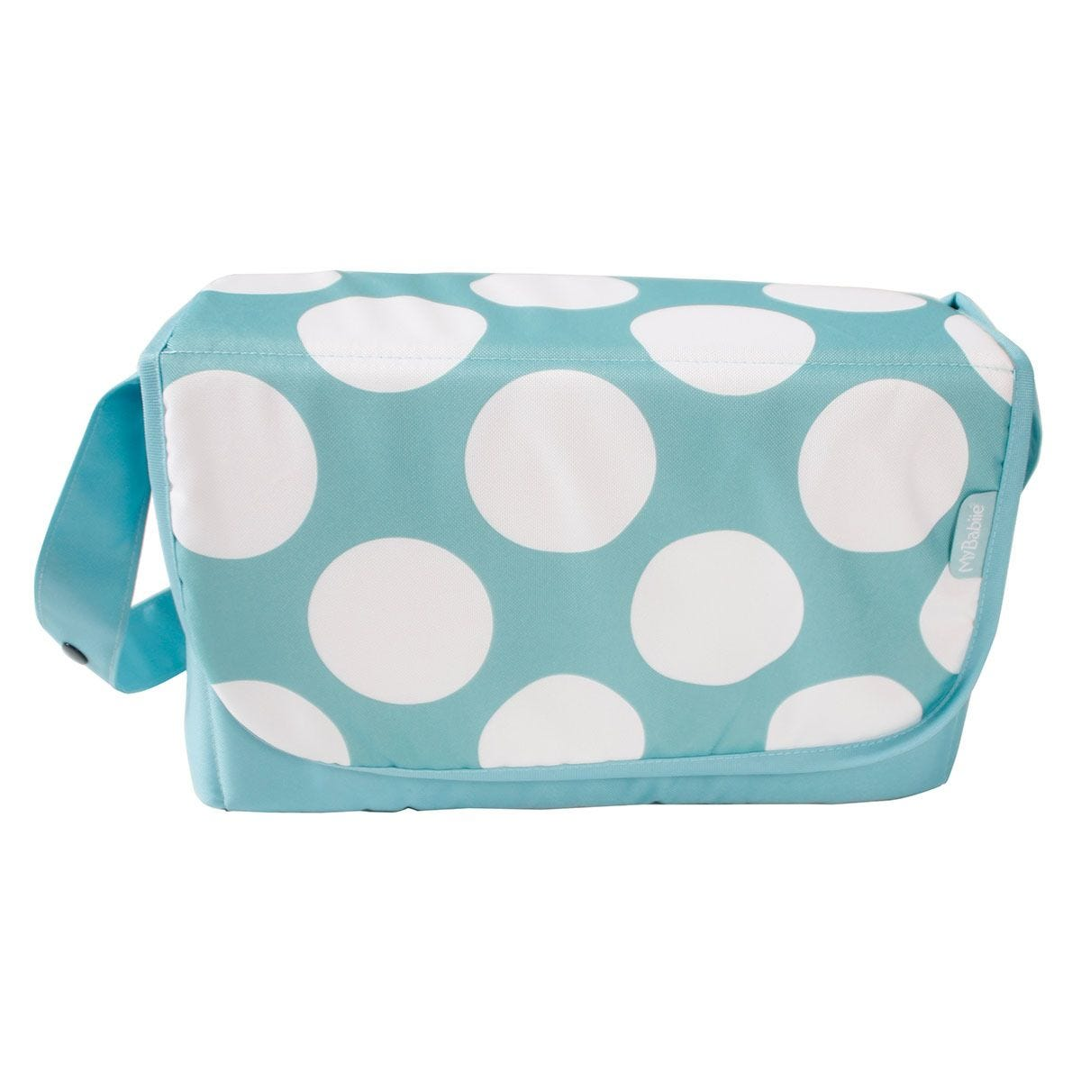 My Babiie Changing Bag - Teal Dots
