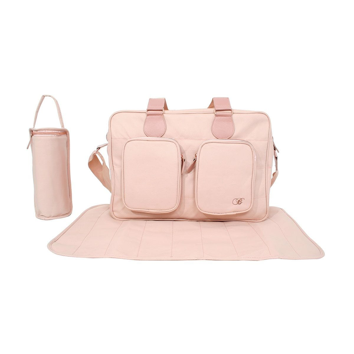 My Babiie Billie Faiers Deluxe Changing Bag - Blush