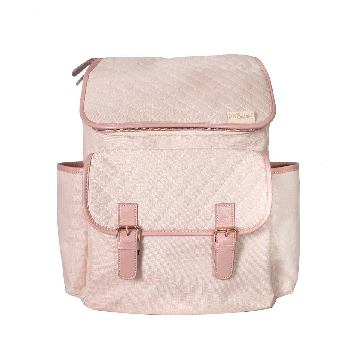 My Babiie Billie Faiers Backpack Changing Bag - Blush