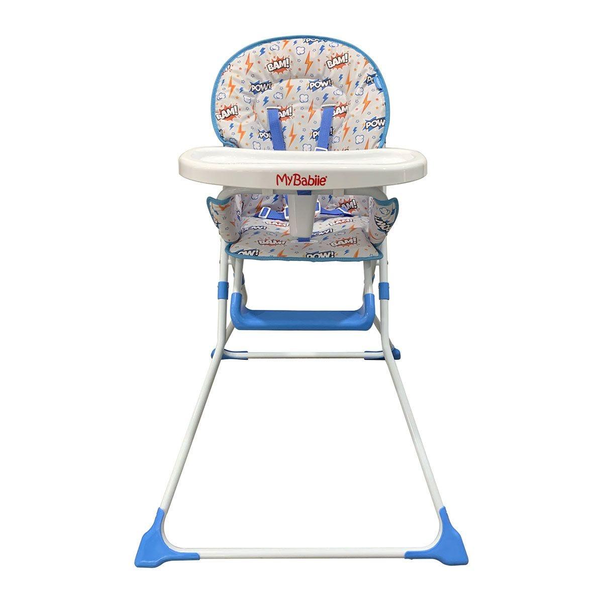 My Babiie BAM! Compact Highchair - Blue