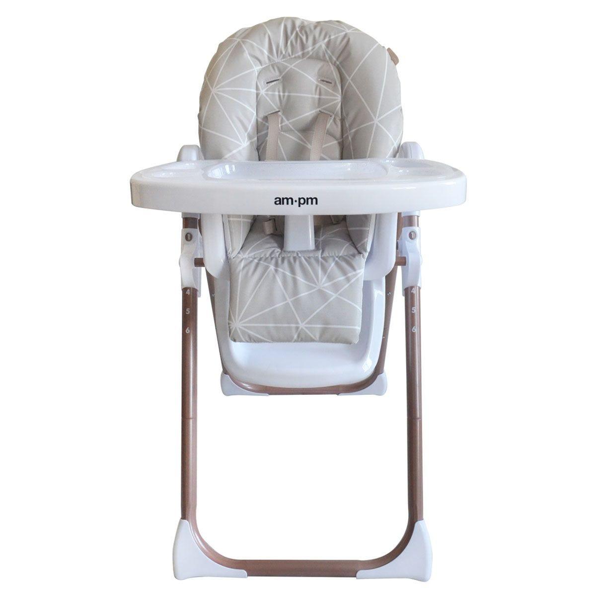 My Babiie Christina Milian AMPM Premium Highchair - Geometric Mocha
