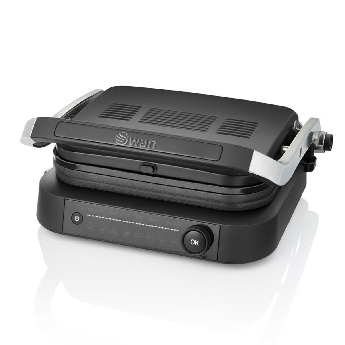 Swan SP22140BLKN Stealth Smart Grill - Black