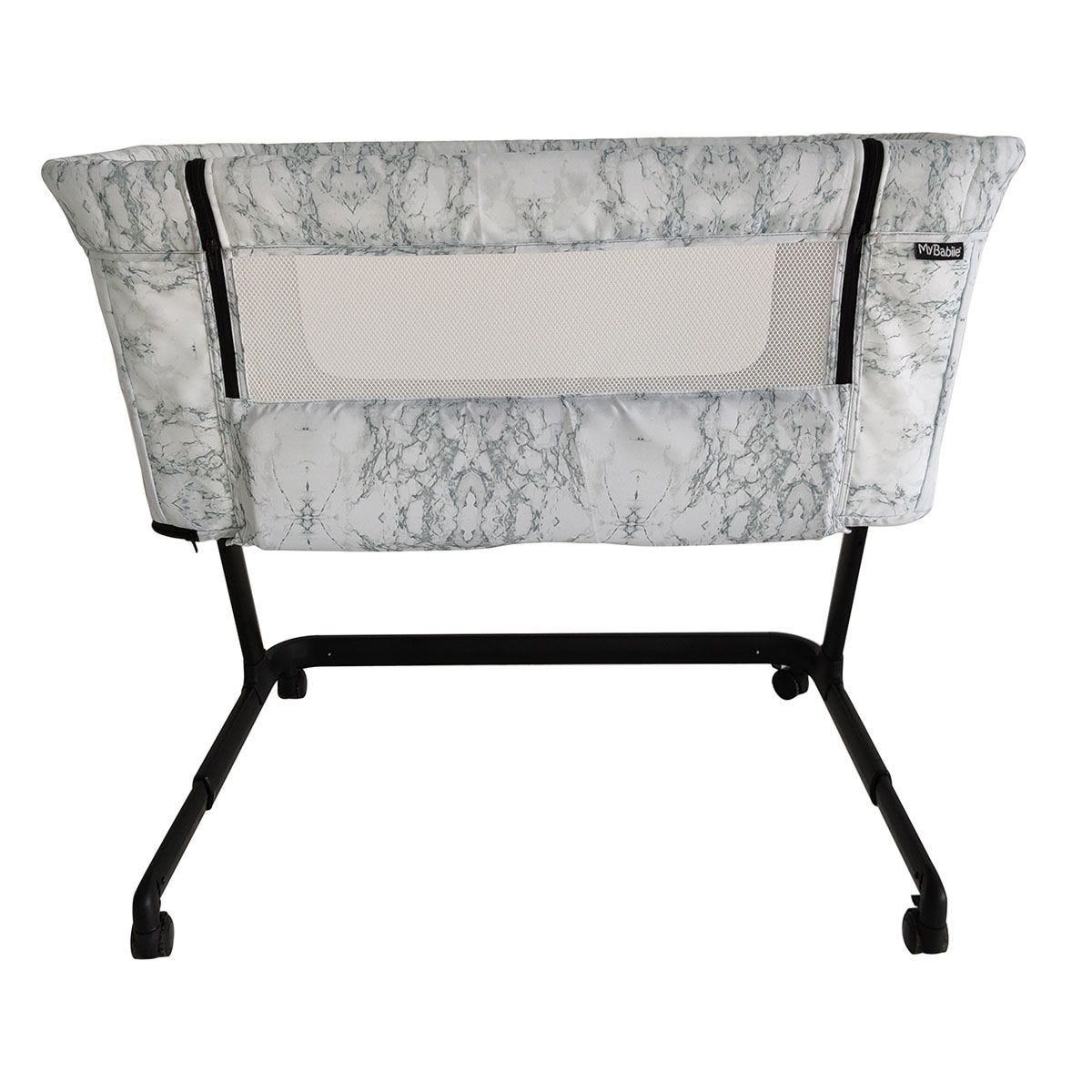 My Babiie Closer Bedside Crib - Marble