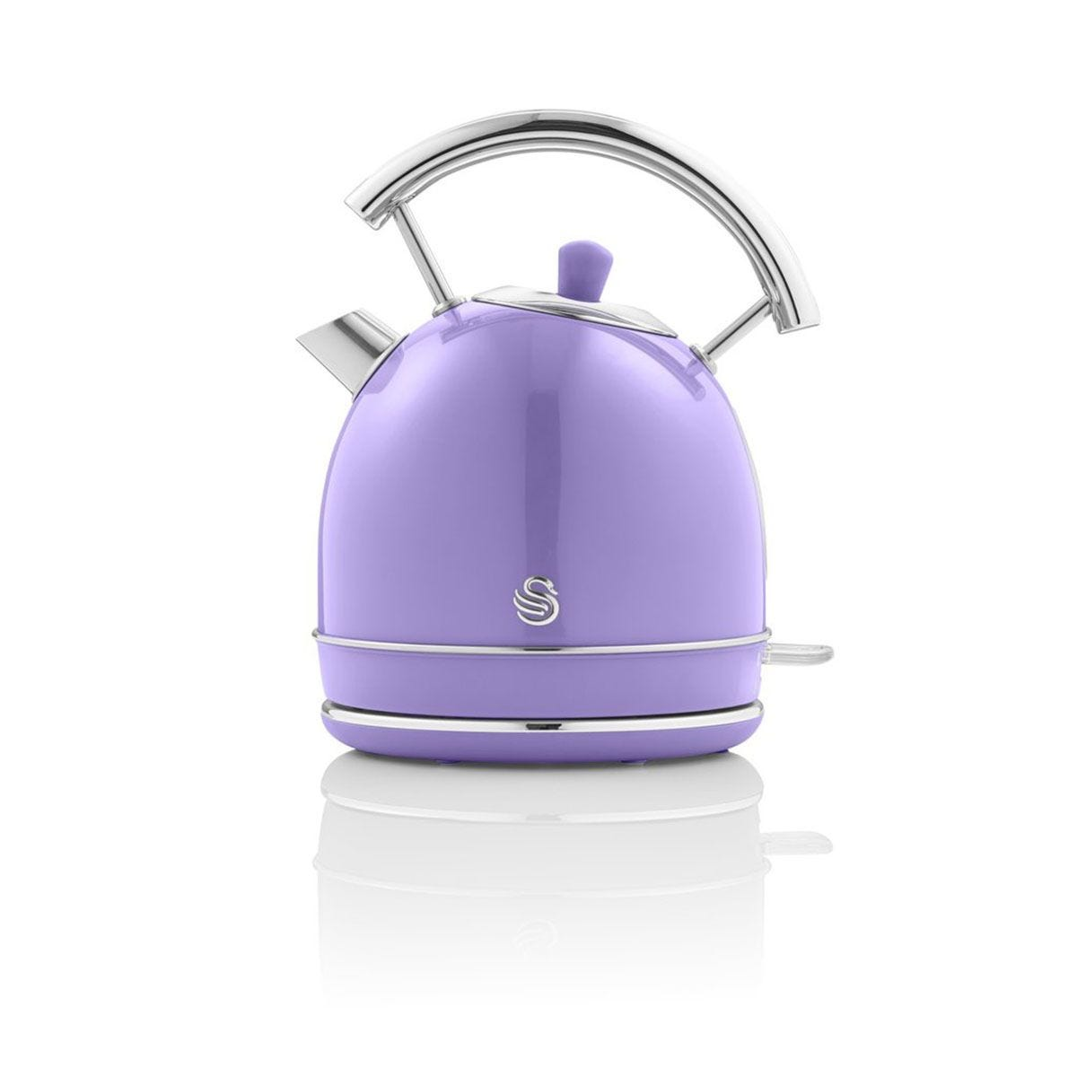 Swan SK14630PURN 1.8L 3000W Dome Kettle - Purple