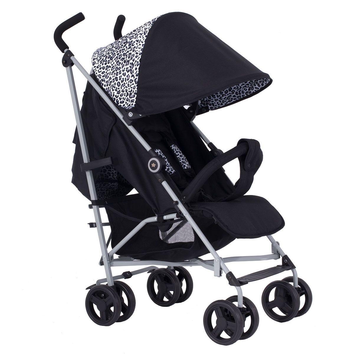 My Babiie Dreamiie MB02 Stroller - Black Leopard