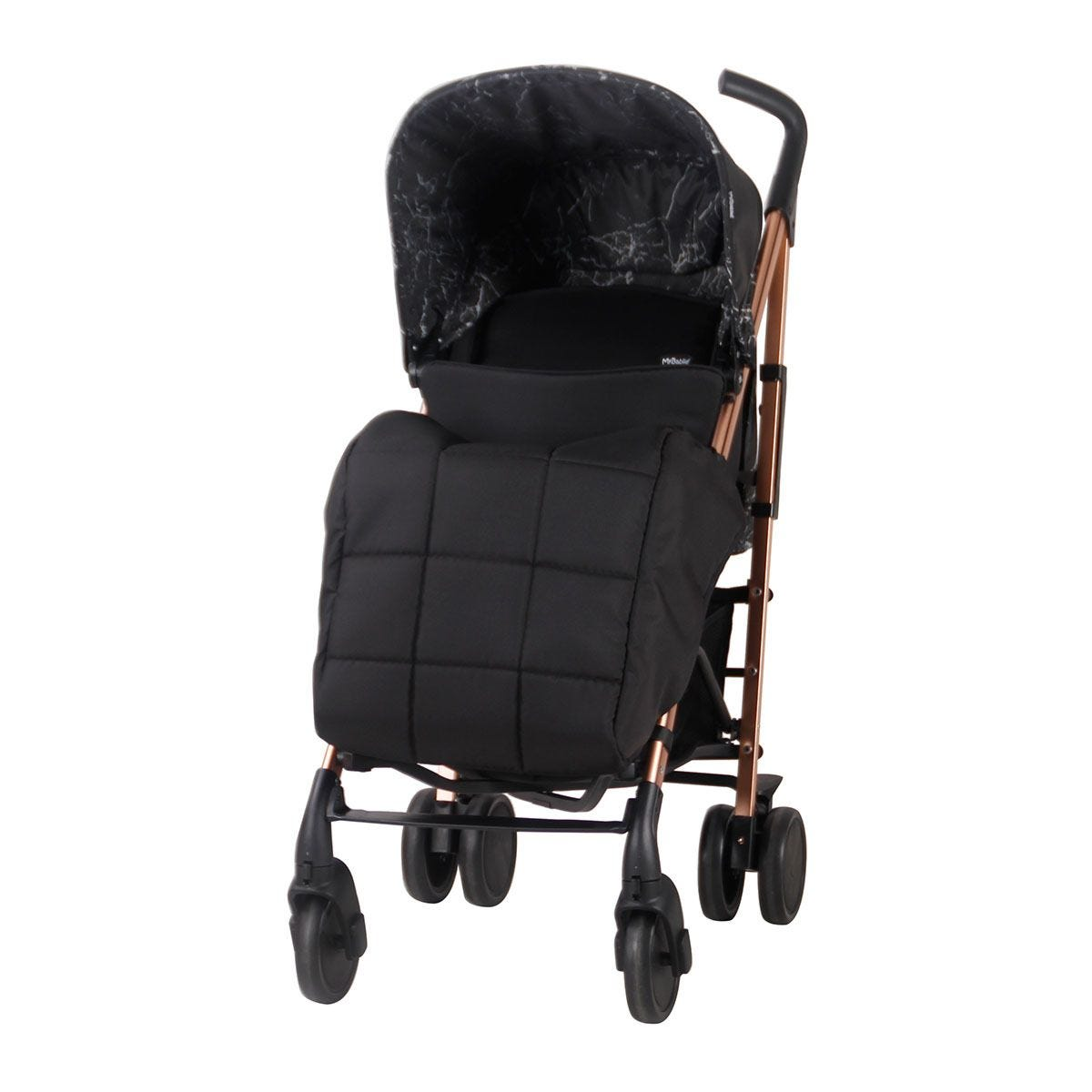 My Babiie Dreamiie by Samantha Faiers MB51 Marble Stroller - Black