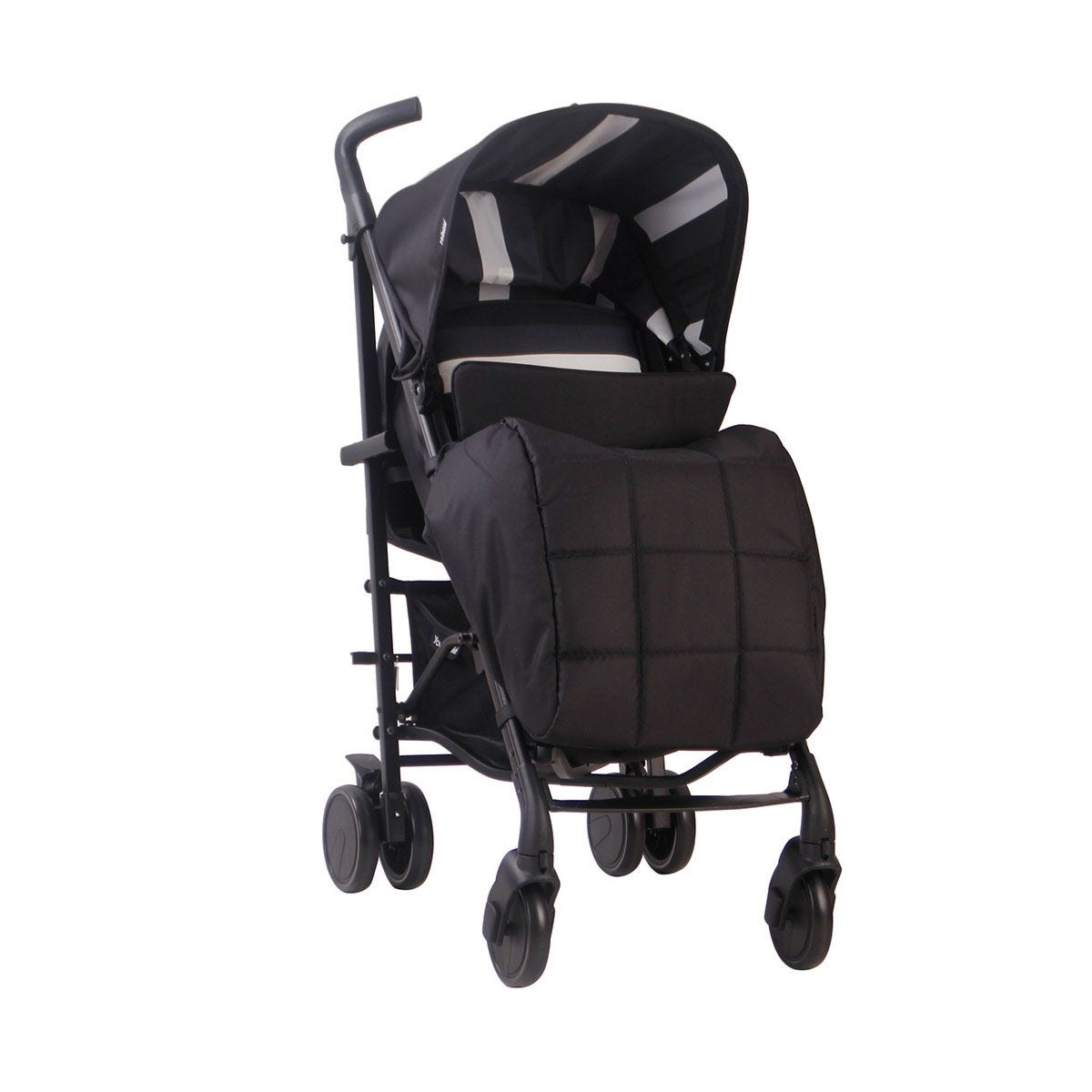 My Babiie AM to PM MB51 Stroller - Charcoal Stripes