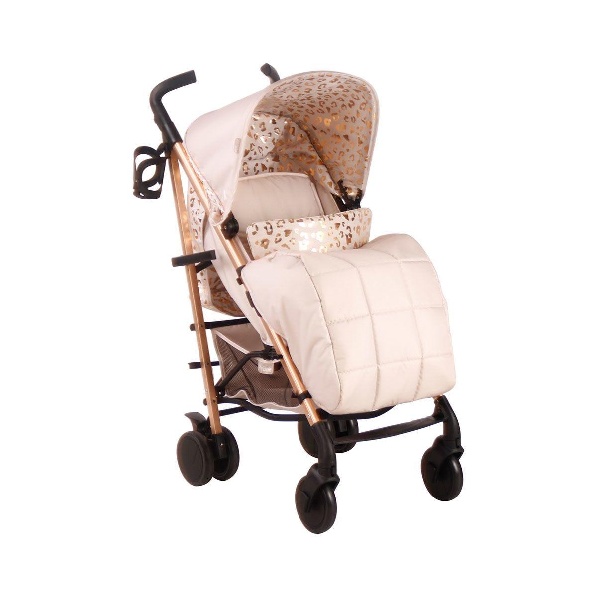 My Babiie Believe Stroller - Blush Leopard