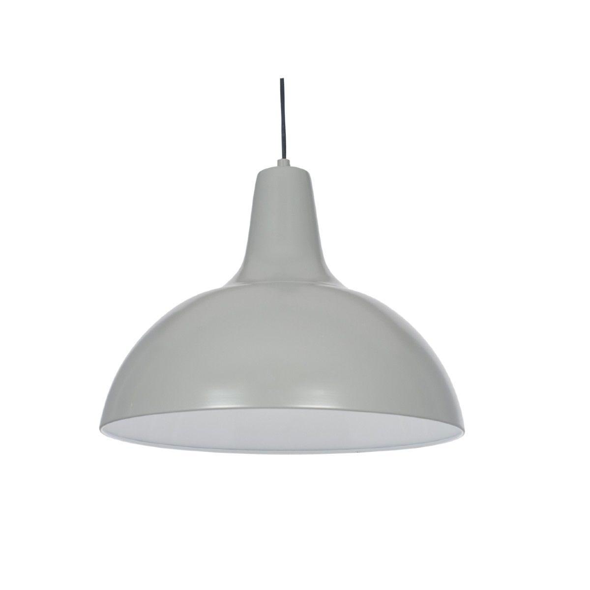 Grey Metal Pendant
