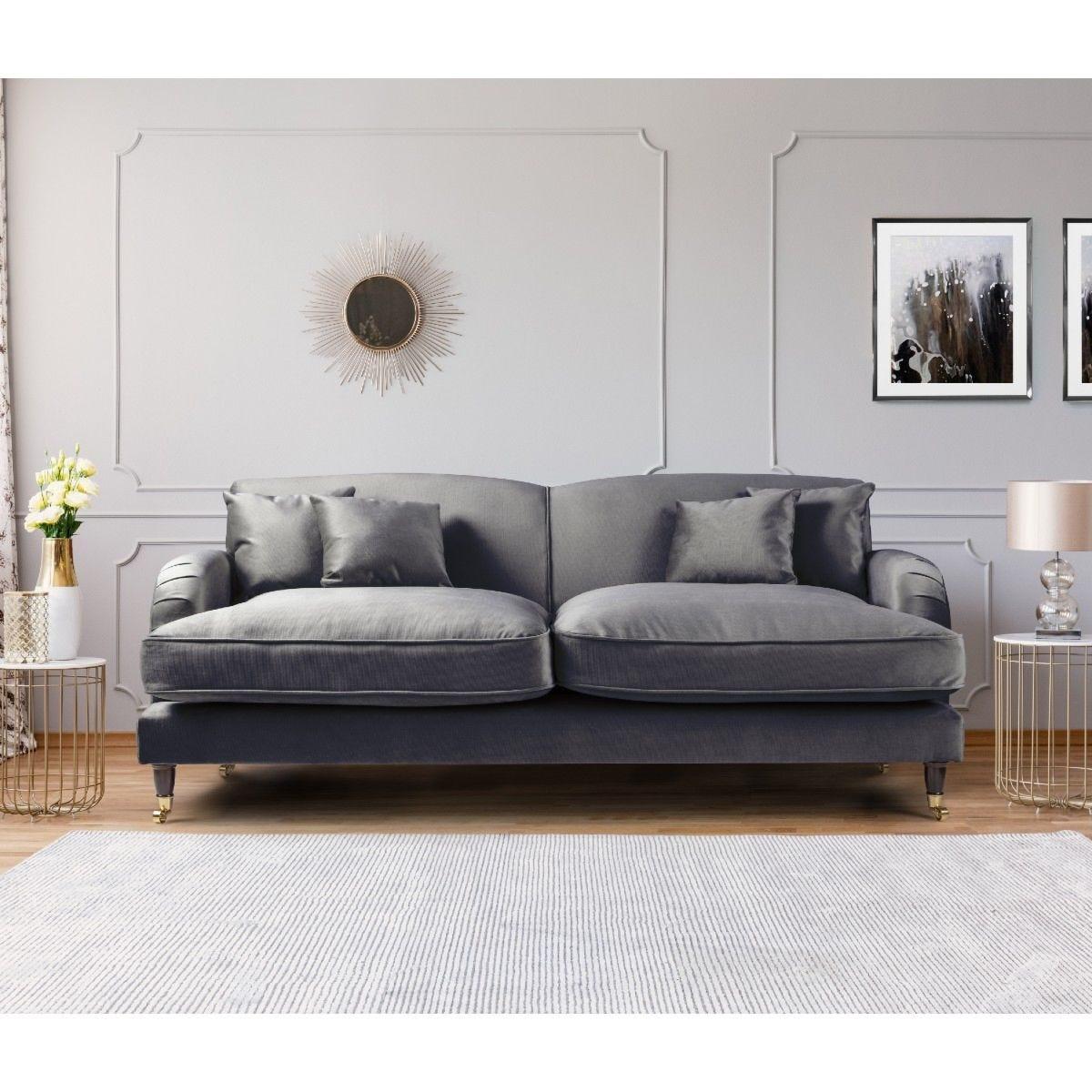 Oxford 3 Seater Sofa Malta Cosmic
