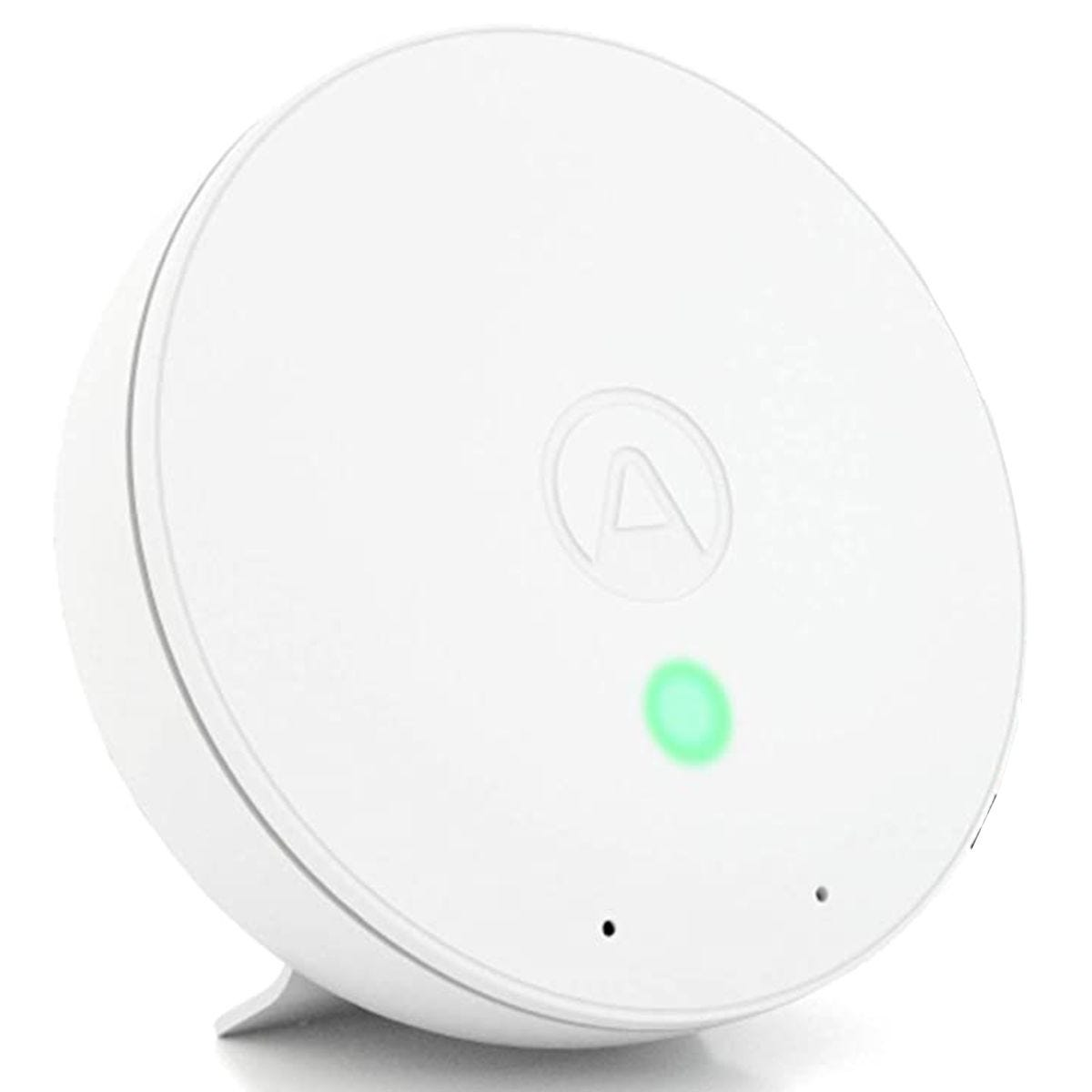 Airthings Wave Mini Smart Indoor Air Quality Monitor with Mould Risk Indication