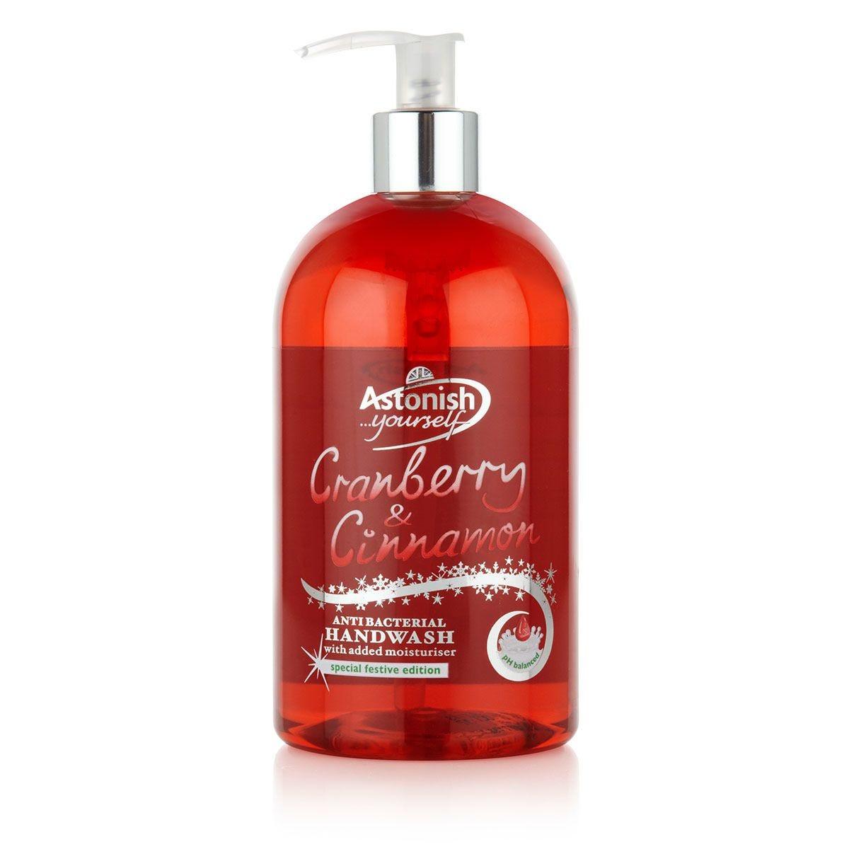 Astonish Cranberry and Cinnamon Handwash - 500ml