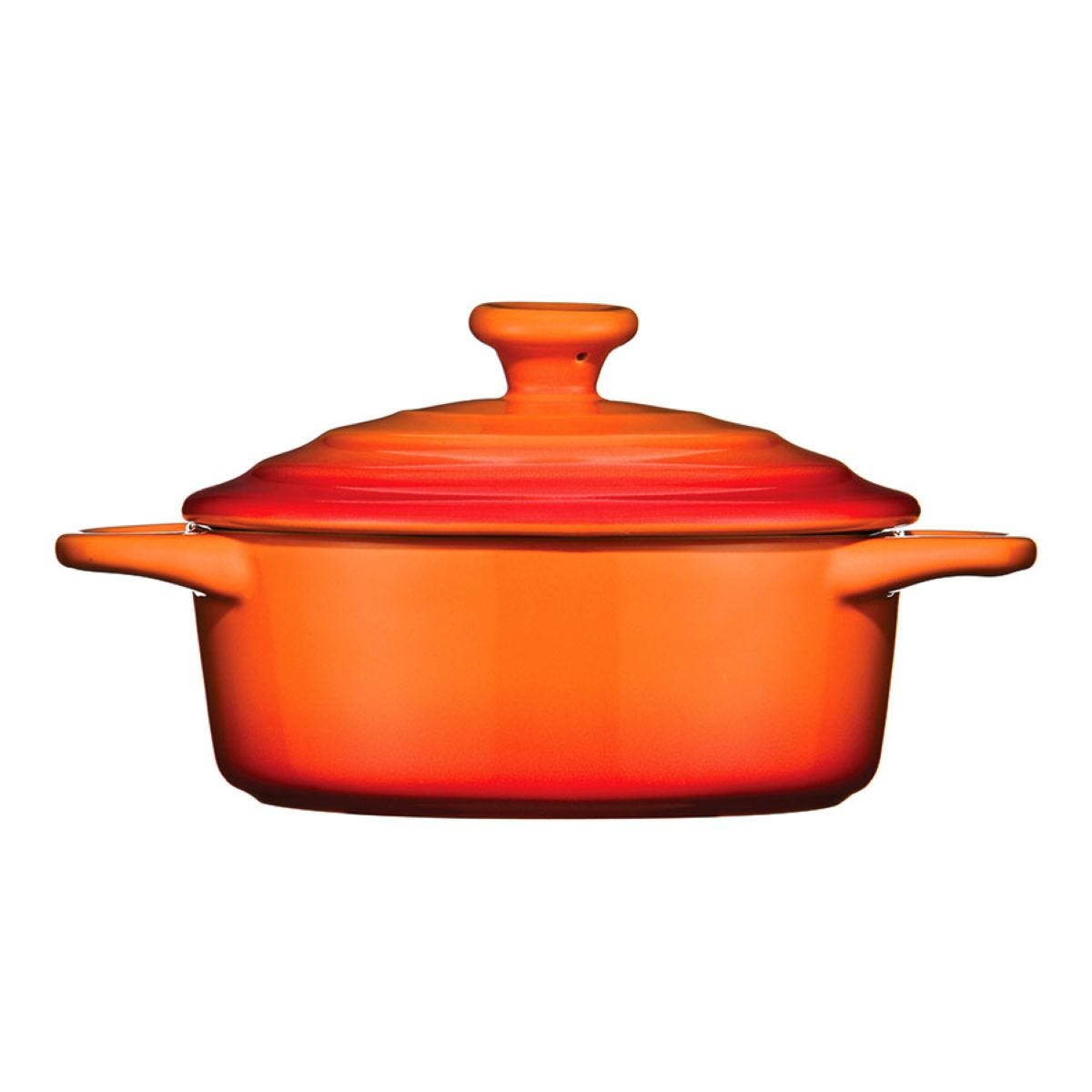 Premier Housewares Orange Casserole Dish - 600ml
