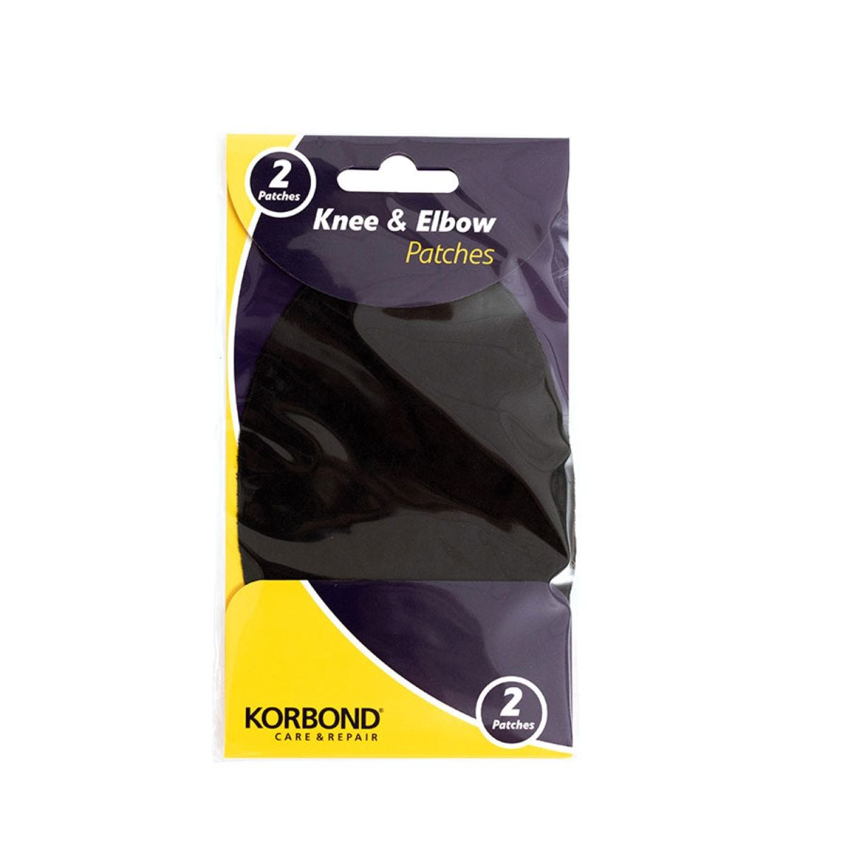 Korbond Care & Repair Knee and Elbow Patches - Black