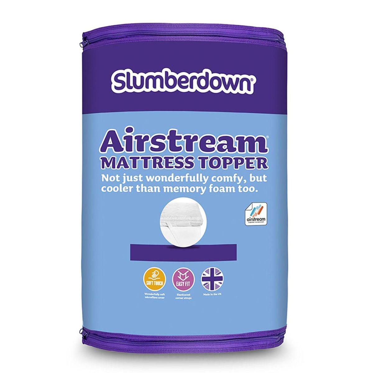 Slumberdown Airstream Mattress Topper