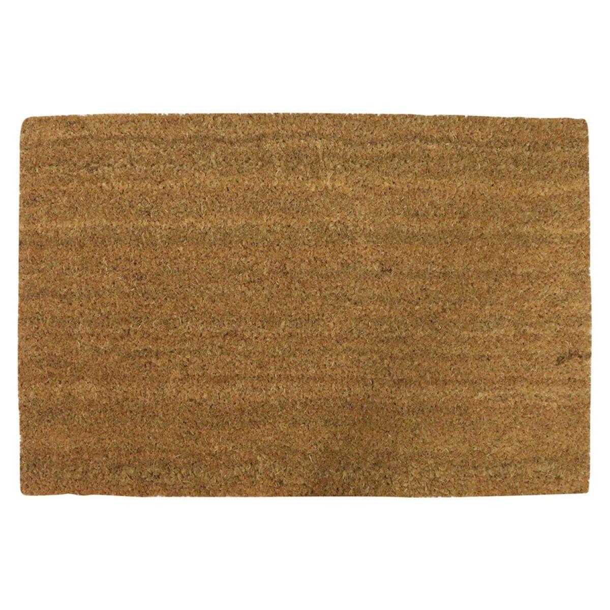 Home Essentials 40 x 60cm Coir Doormat - Natural