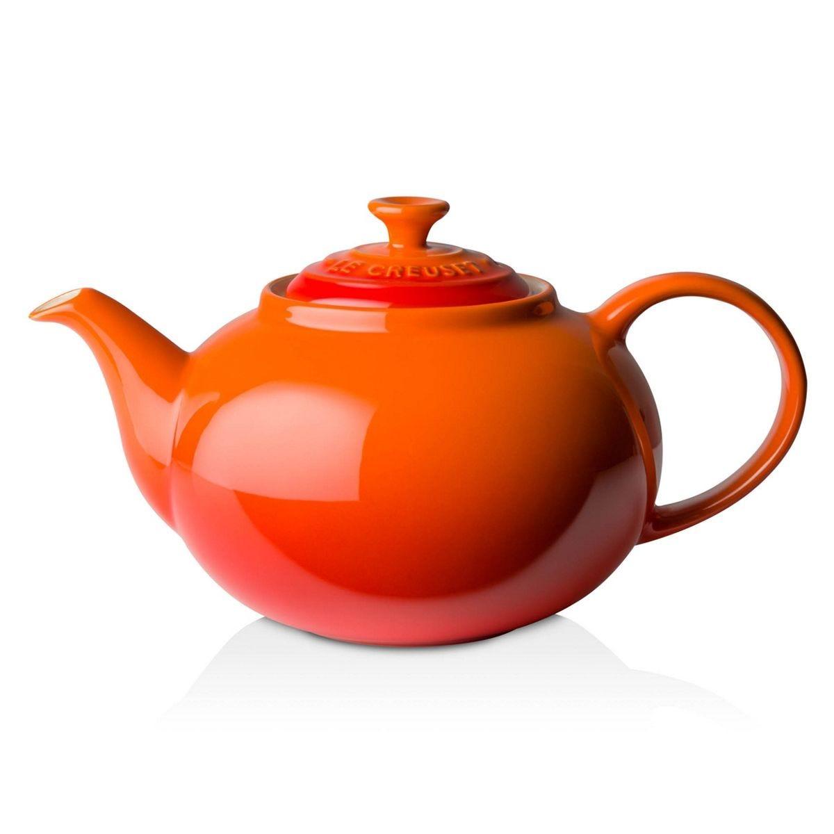 Le Creuset Stoneware Classic Teapot 1.3L Volcanic