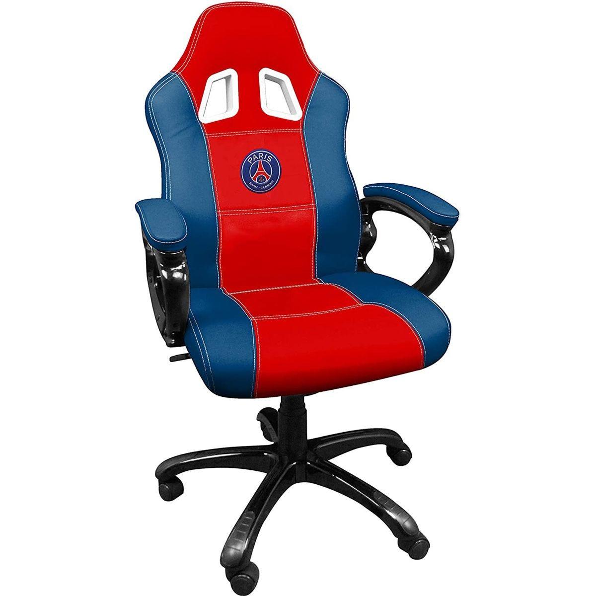 Subsonic Paris Saint Germain Gaming Chair - Red/Blue