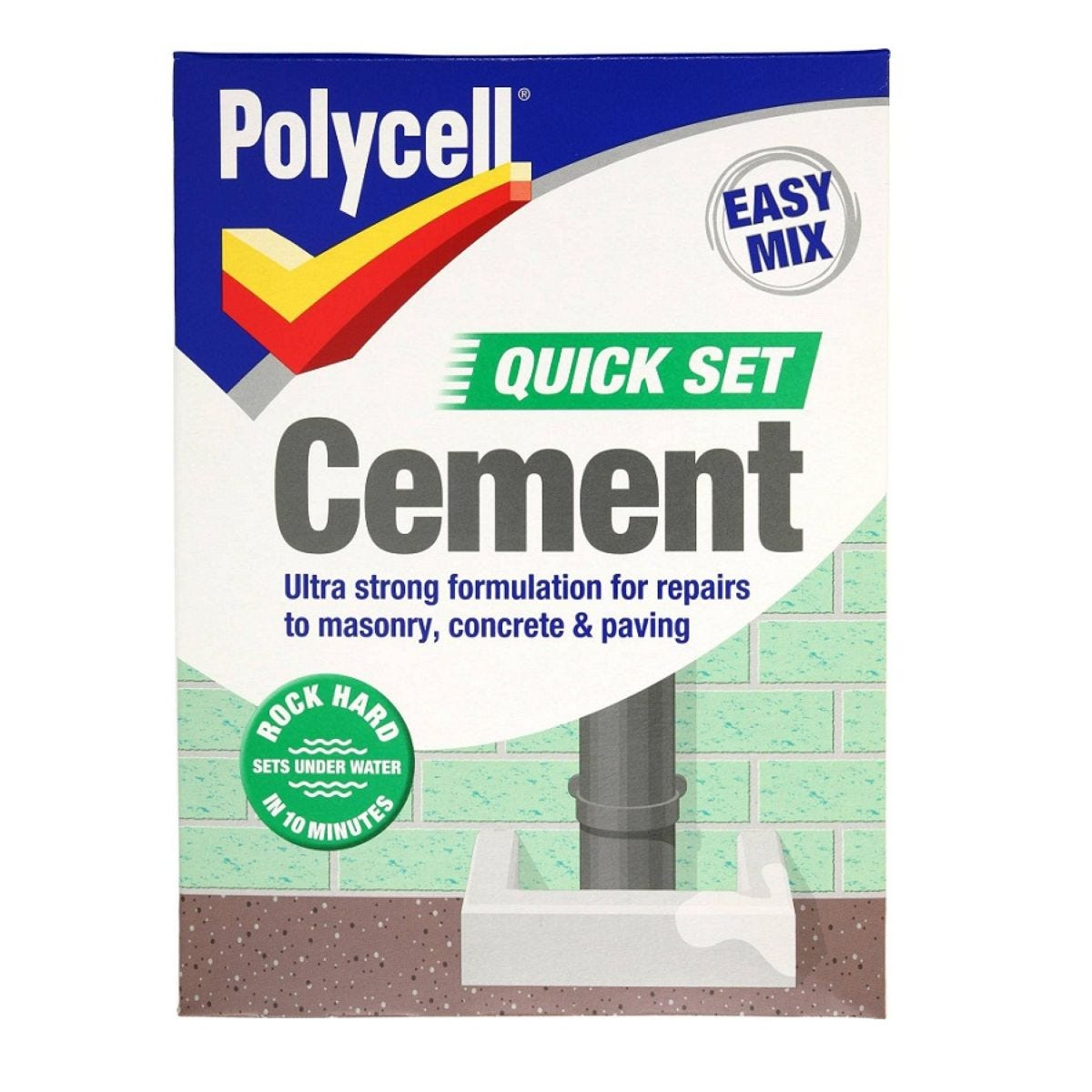 Polycell Quick Set Cement - 2Kg