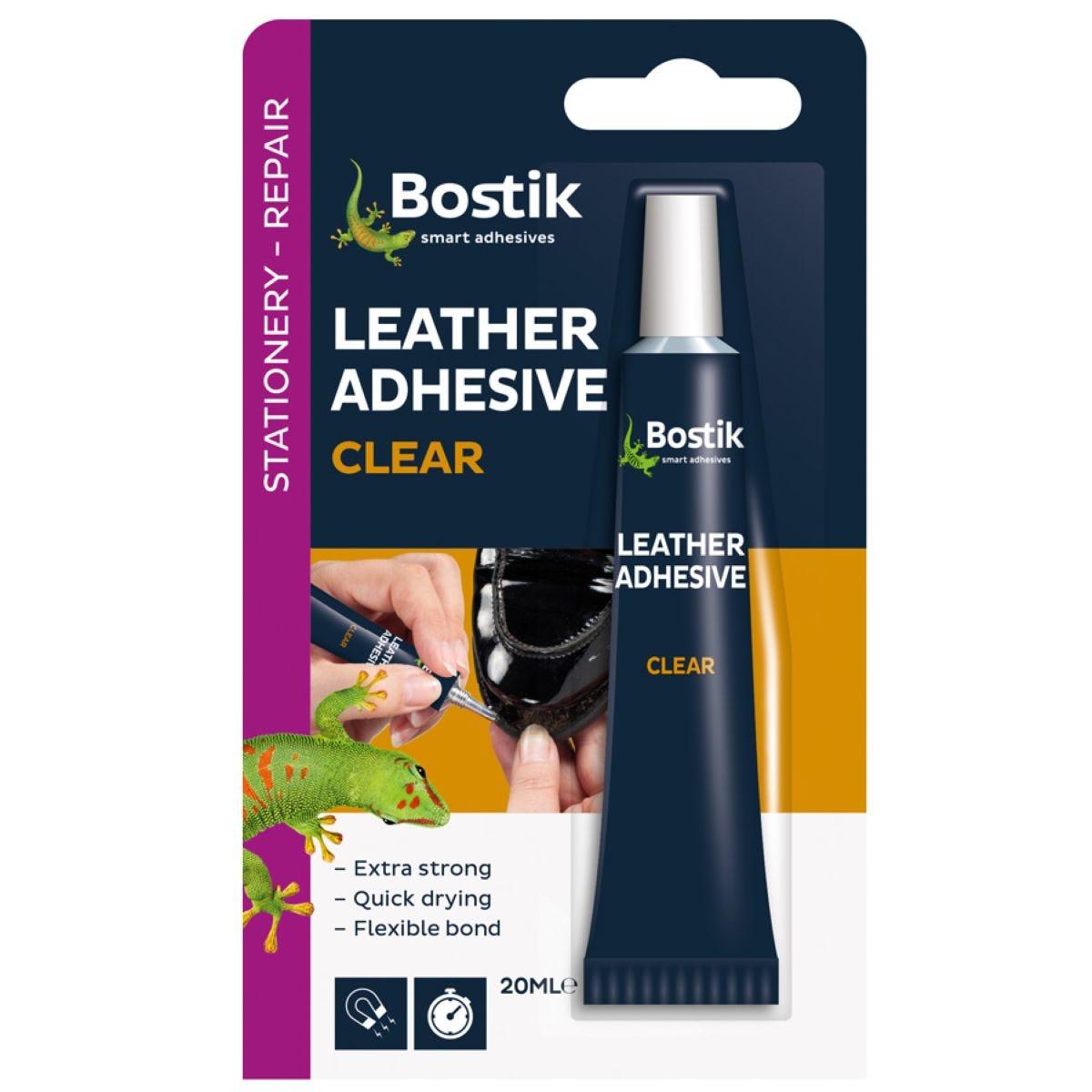 Bostik Leather Adhesive Glue Tube 381513 20ml