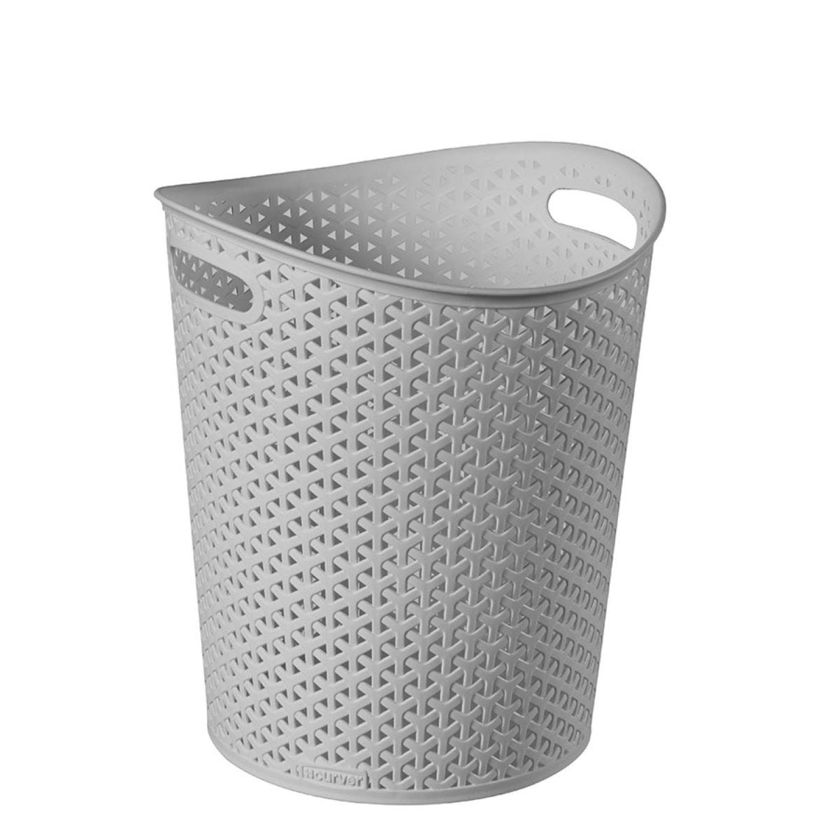 Curver My Style 13L Waste Paper Bin - Grey