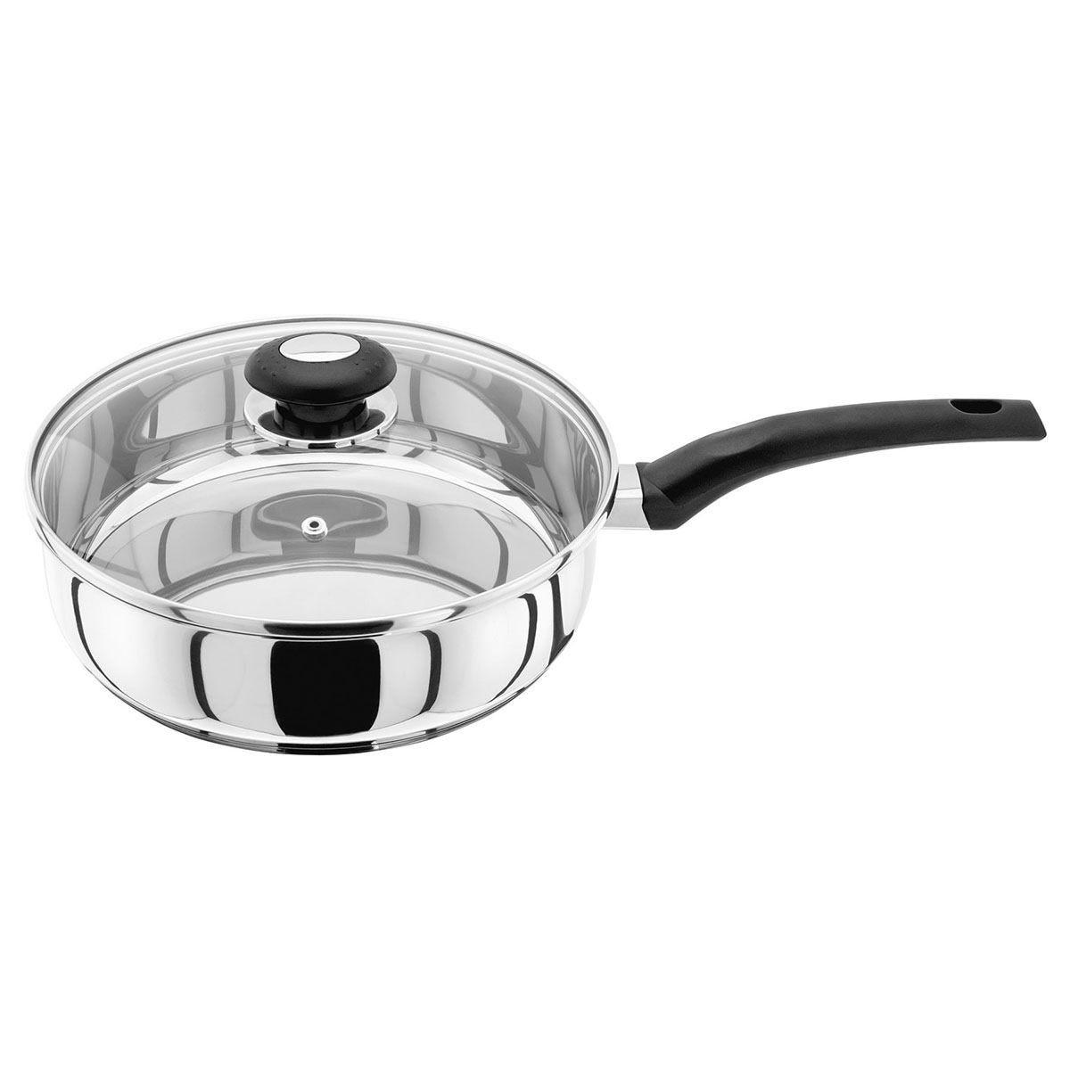 Judge Essentials 24cm Covered Saute Pan