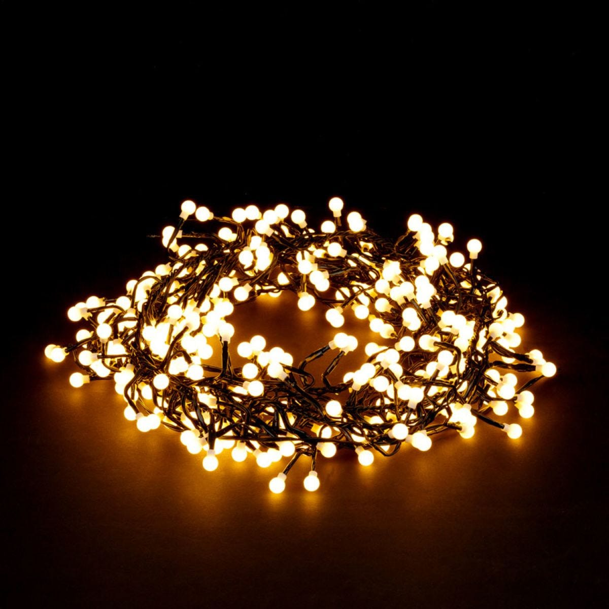 Robert Dyas Mains Operated LED Cluster Berry Lights - Warm White