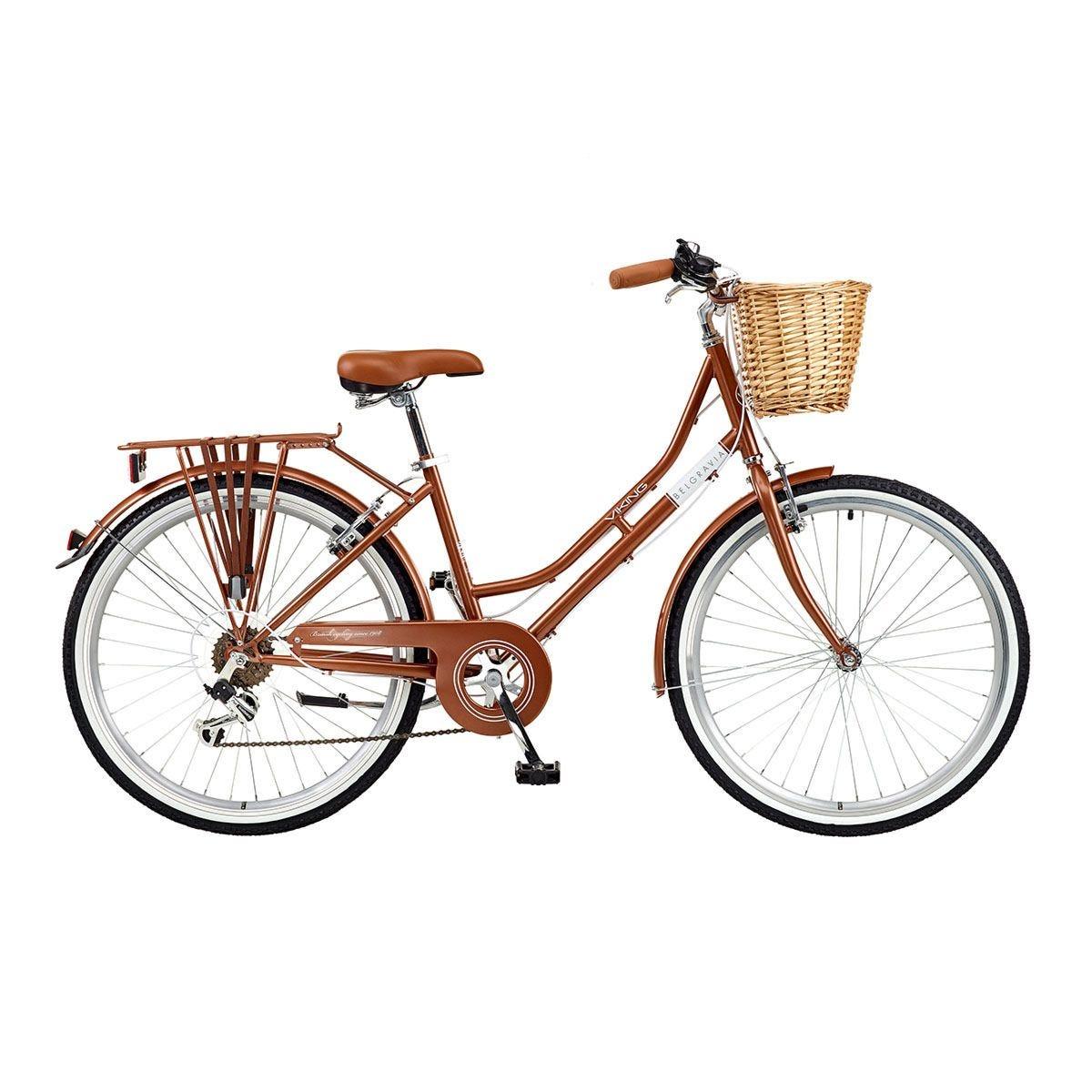 Viking Belgravia Ladies Traditional Heritage 26inch Wheel 6 Speed Bike - Copper