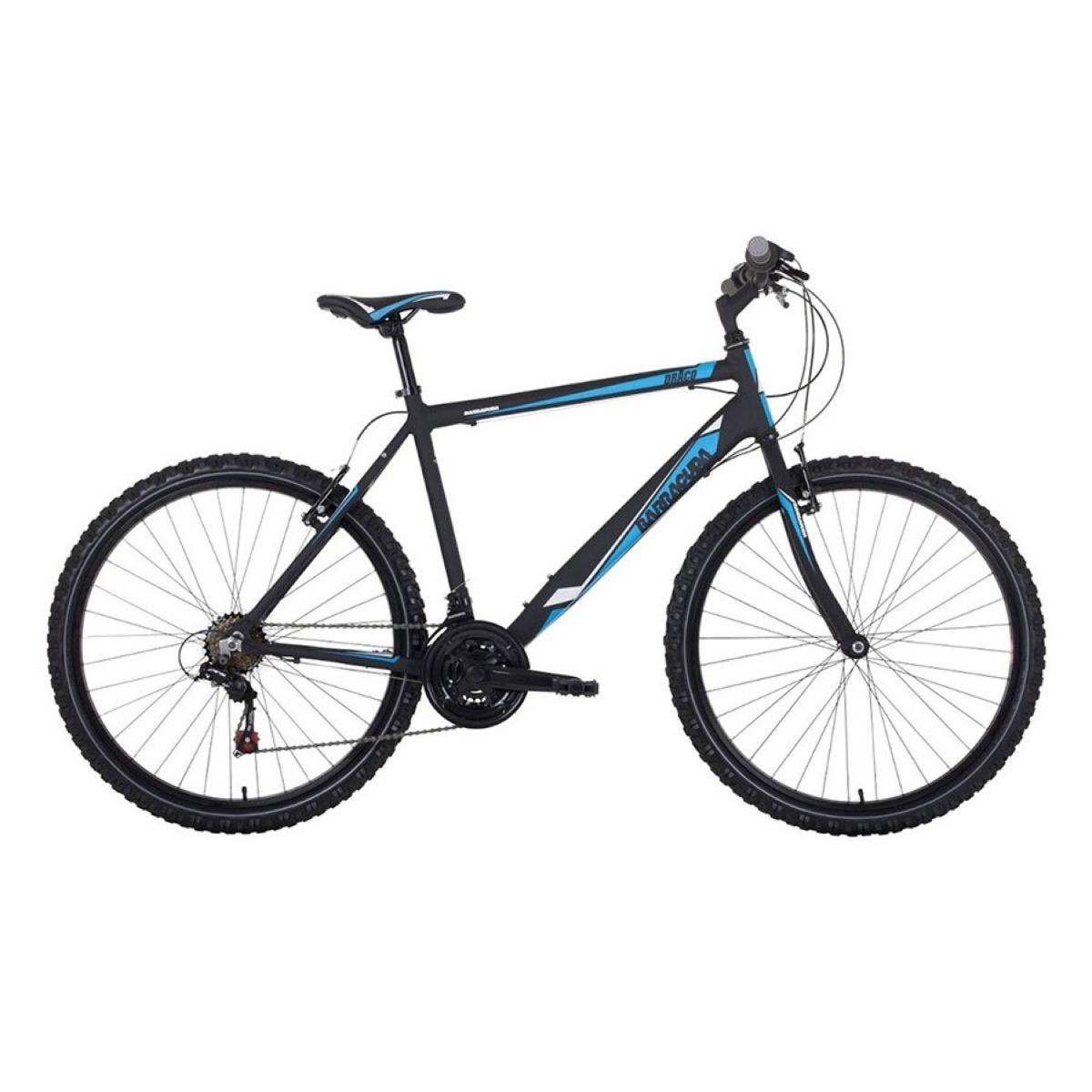 Barracuda Draco Men's Mountain Bike - Matt Black