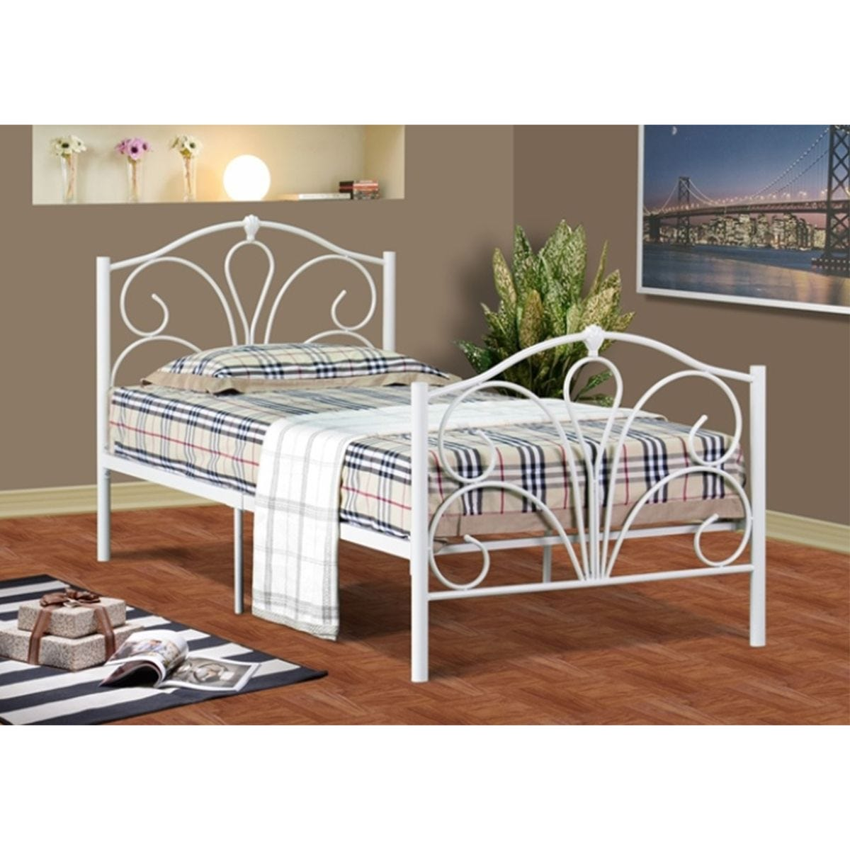 Scarlet Bed Frame - White
