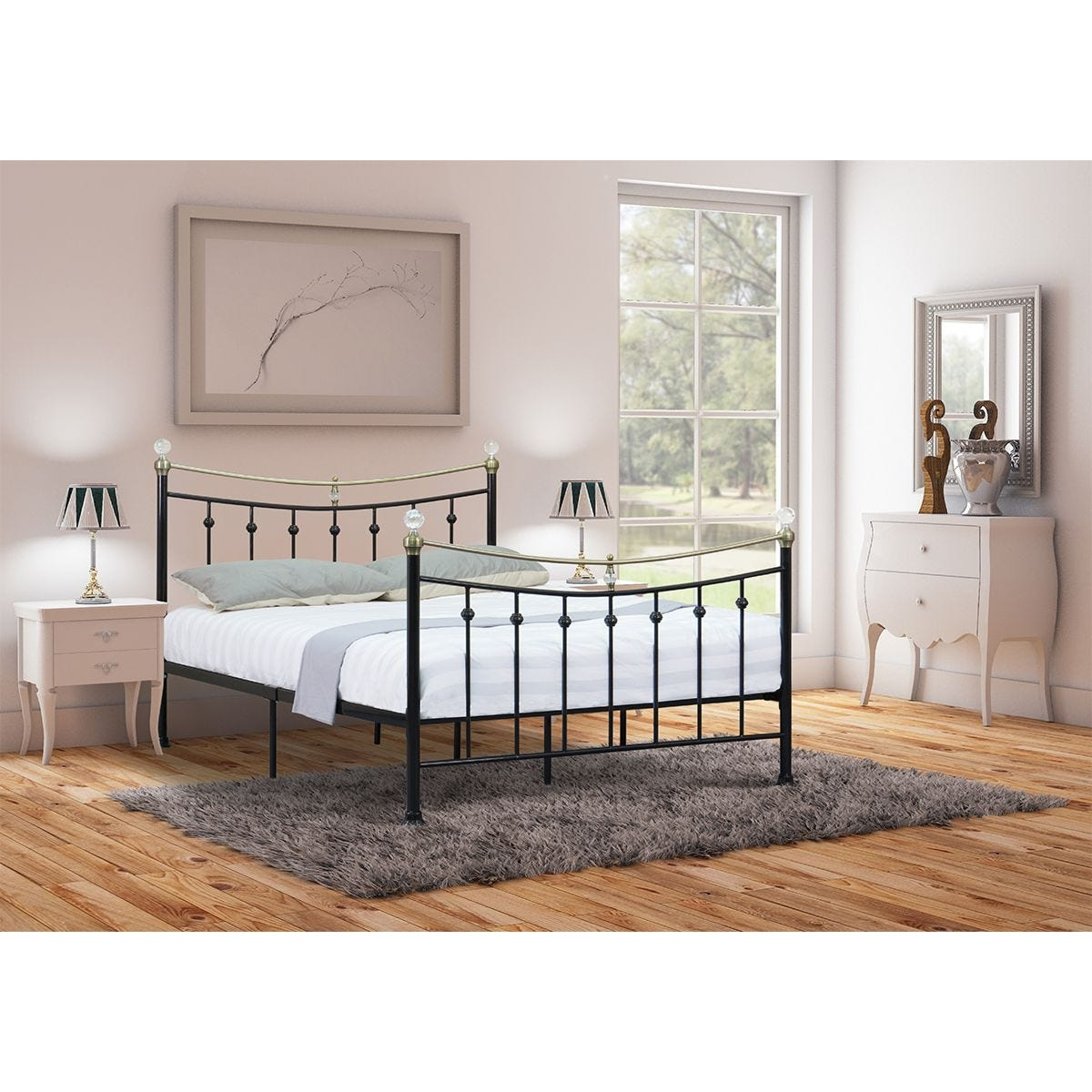 Violet Bed Frame - Black