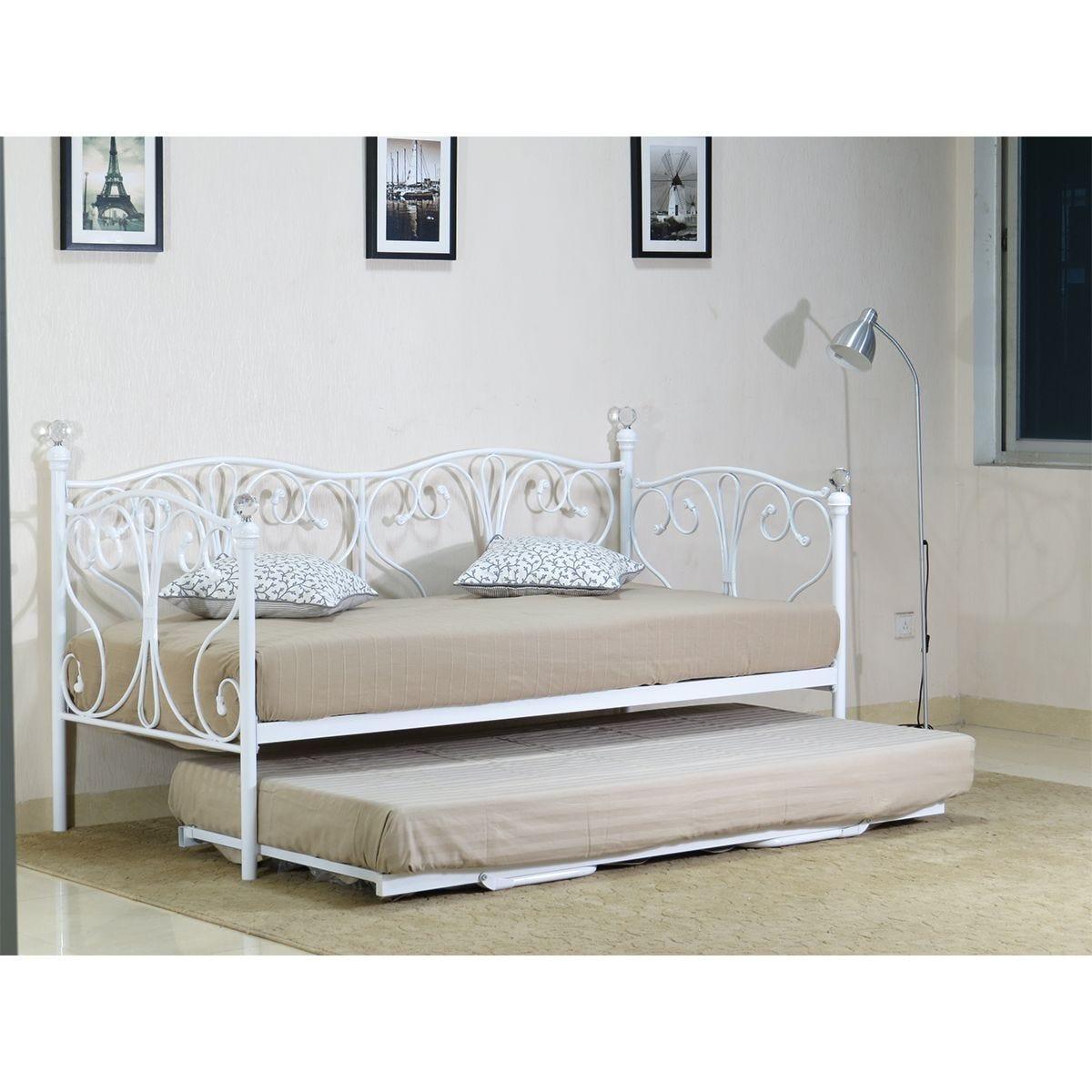 Iris Day Bed - White