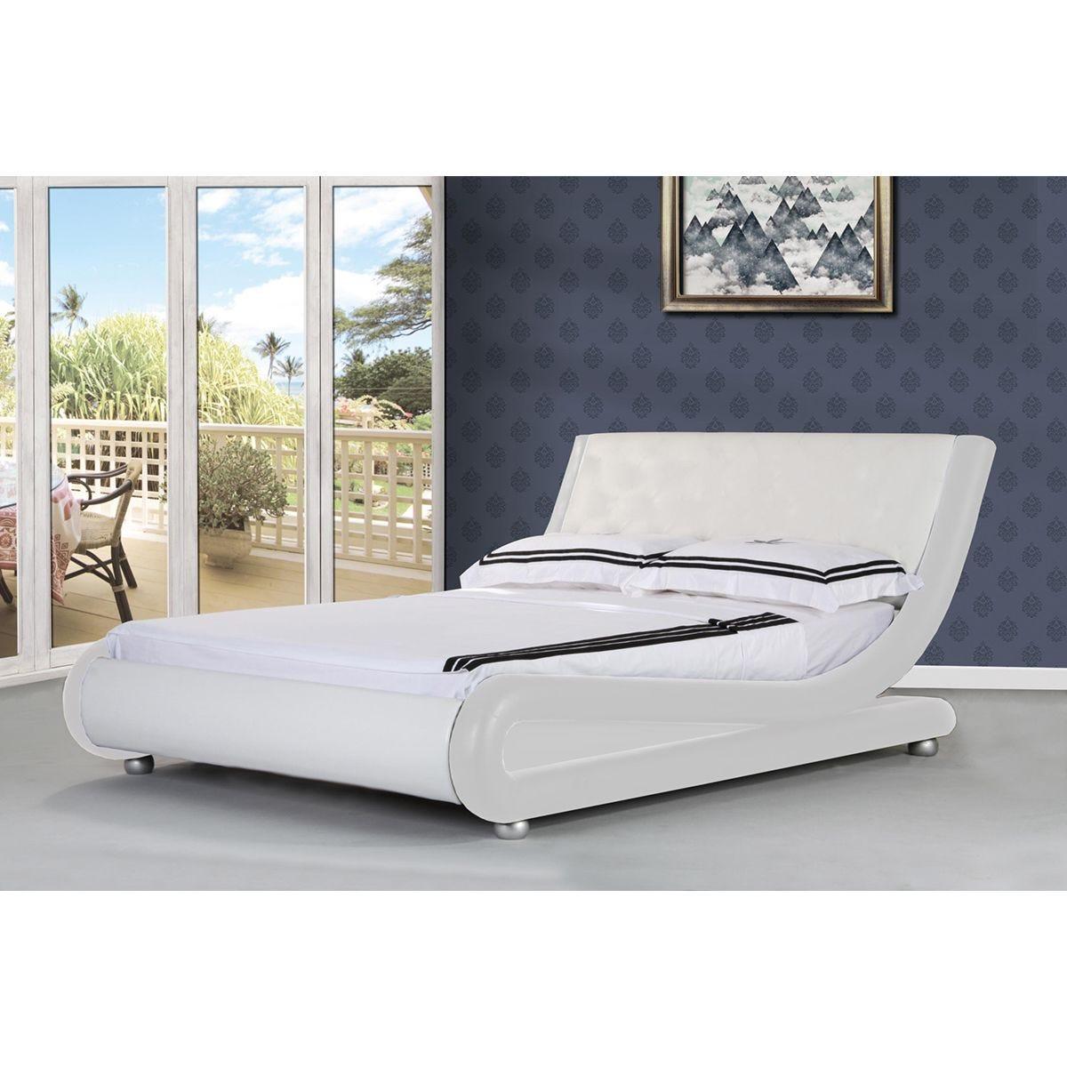 Jaxon Bed Frame - White