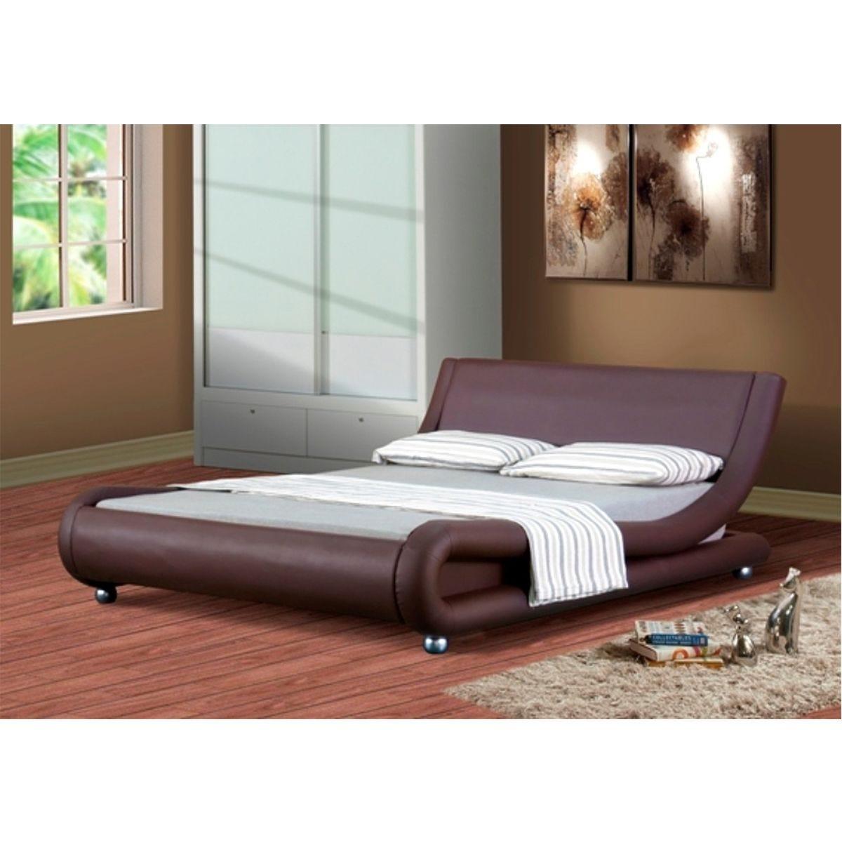 Jaxon Bed Frame - Chocolate