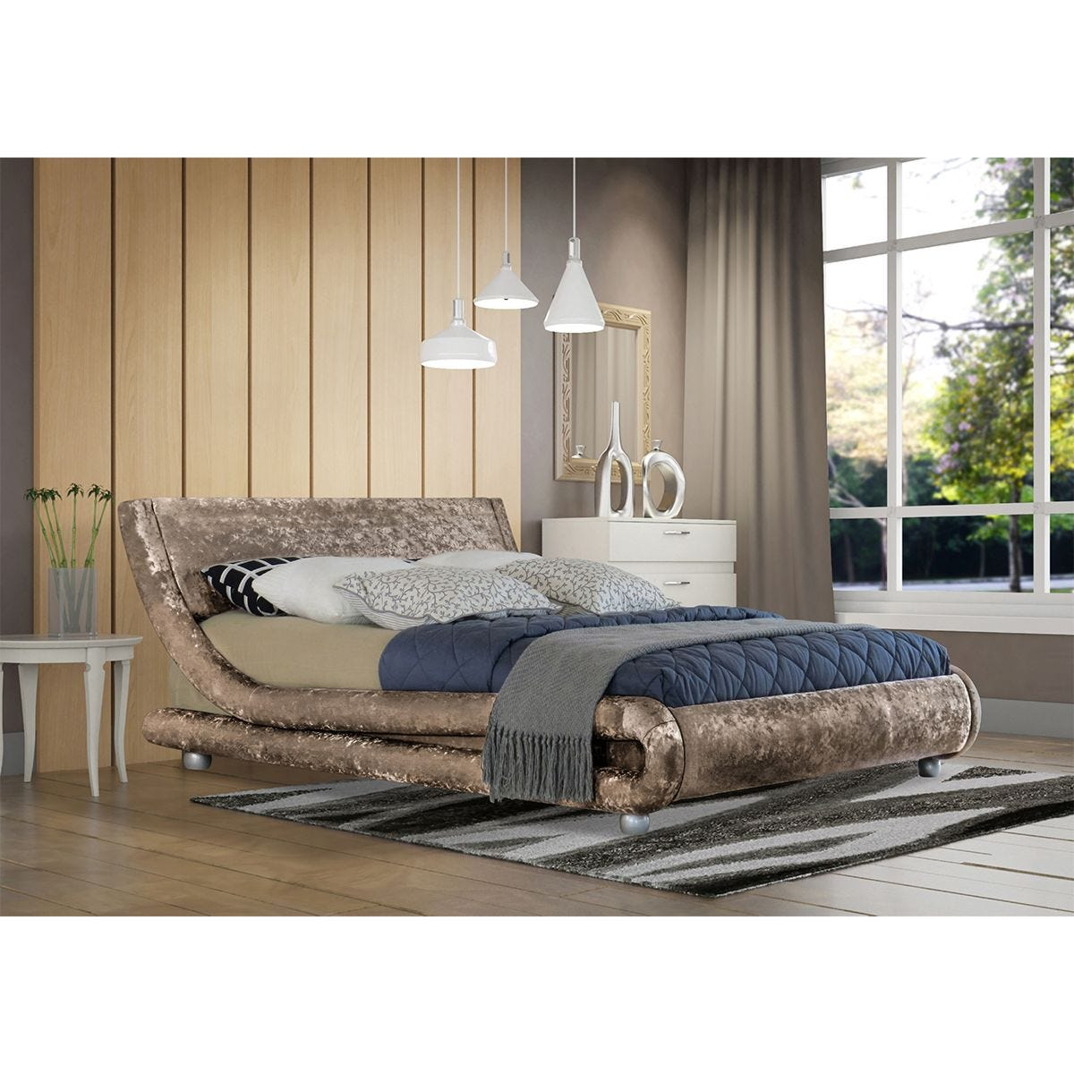 Grayson Bed Frame - Truffle
