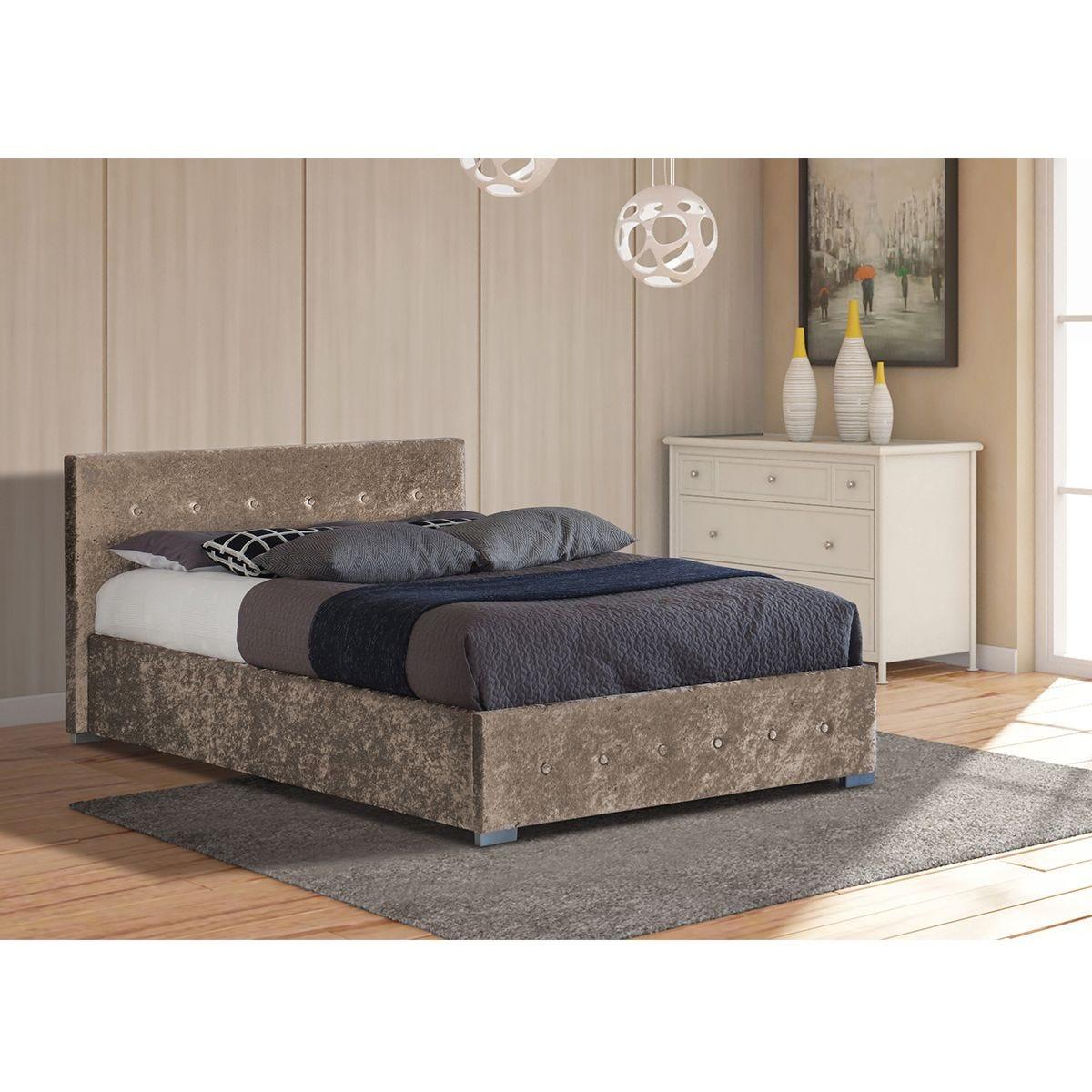 Albie Ottoman King Storage Bed - Truffle