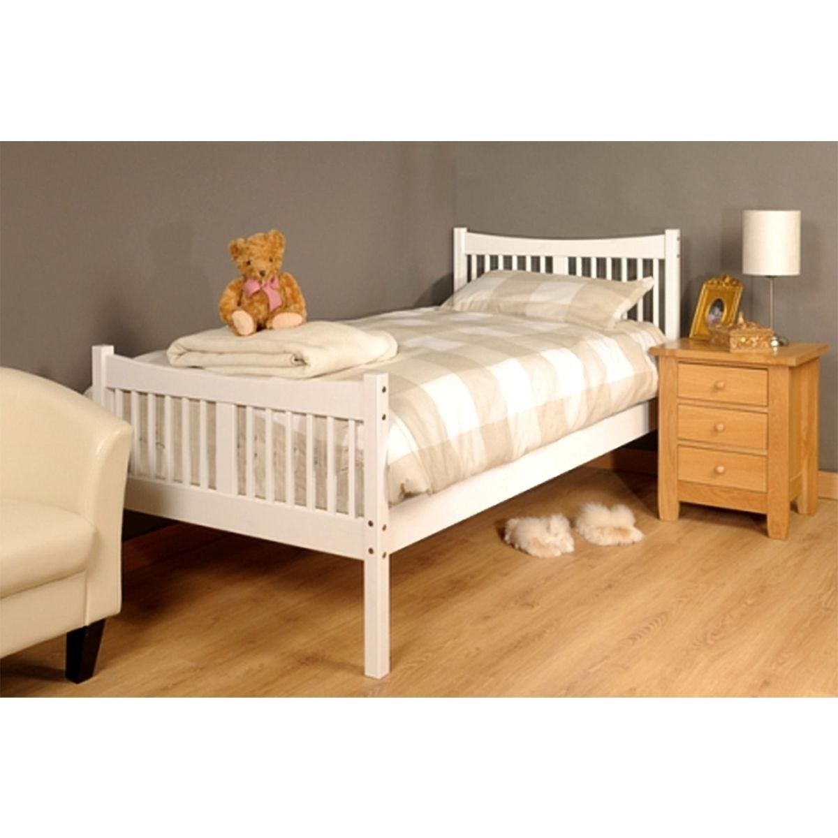 Valmiera Bed Frame - White