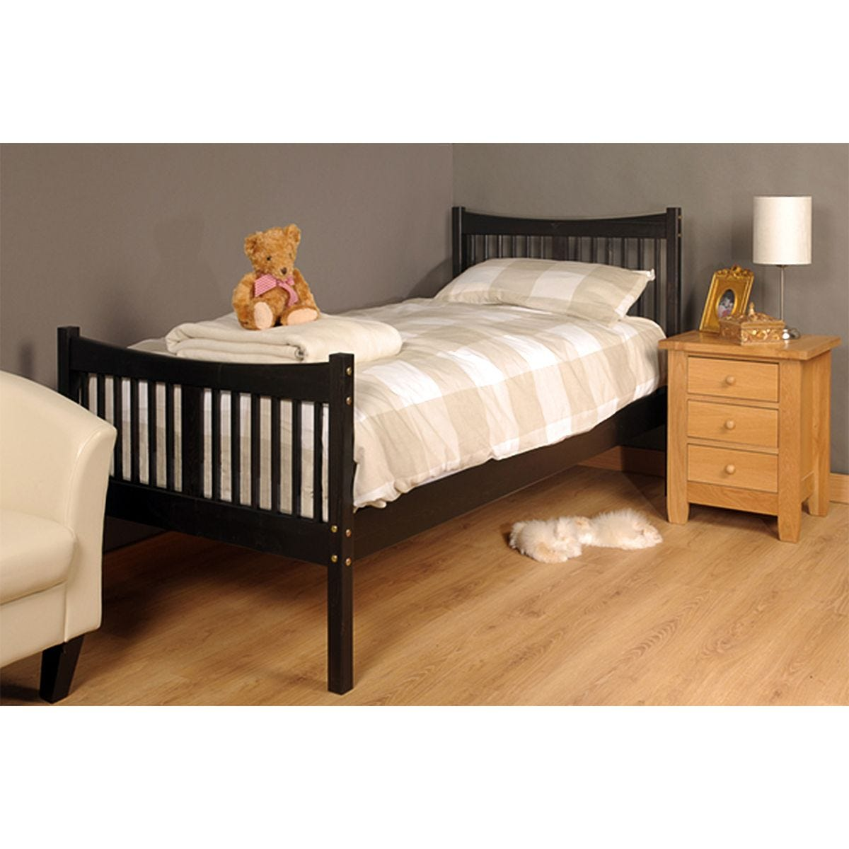 Valmiera Bed Frame - Chocolate