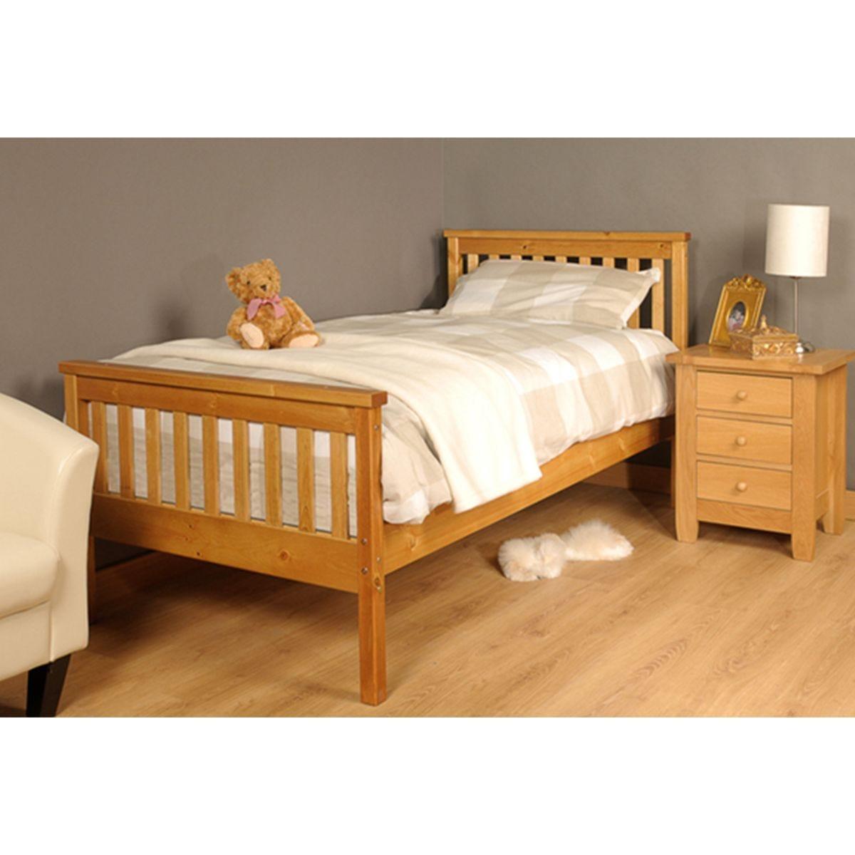 Talsi Bed Frame - Caramel