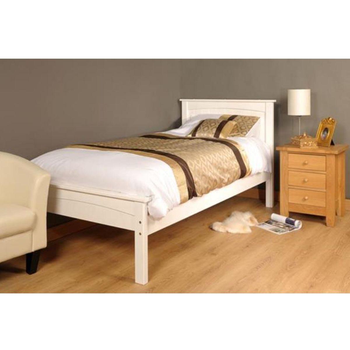Ludza Bed Frame - White