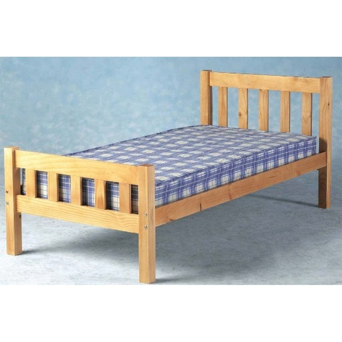 Sabile Bed Frame - Caramel