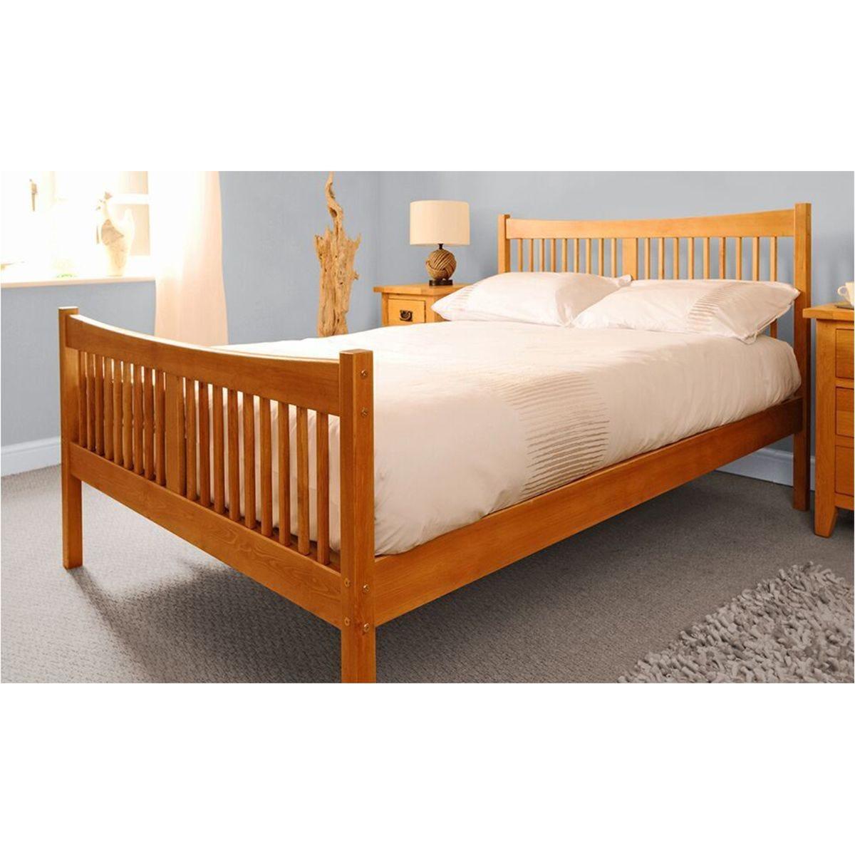 Balvi Bed Frame - Caramel