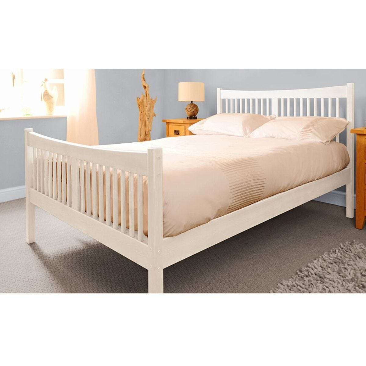 Balvi Bed Frame - White
