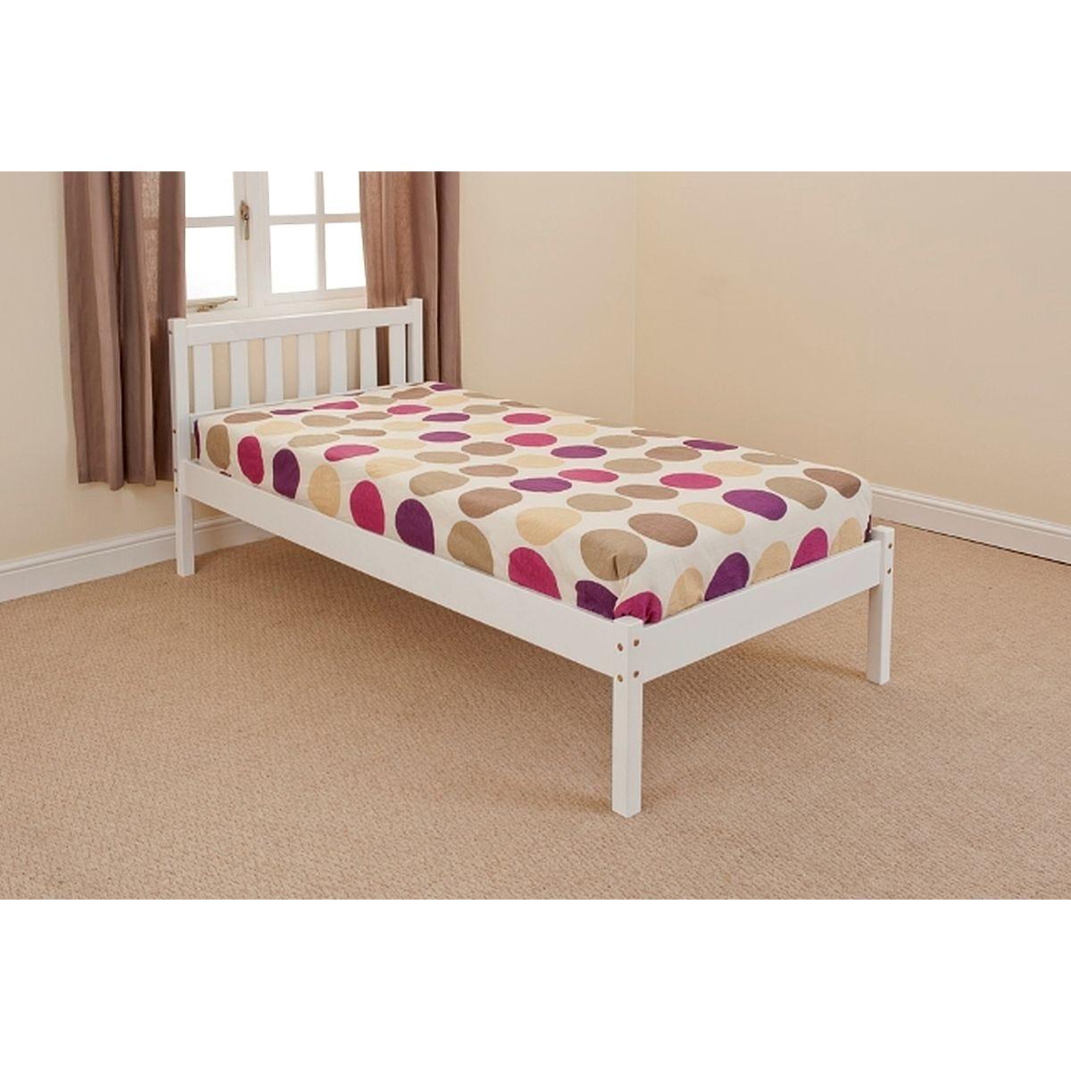 Aloja Bed Frame - White