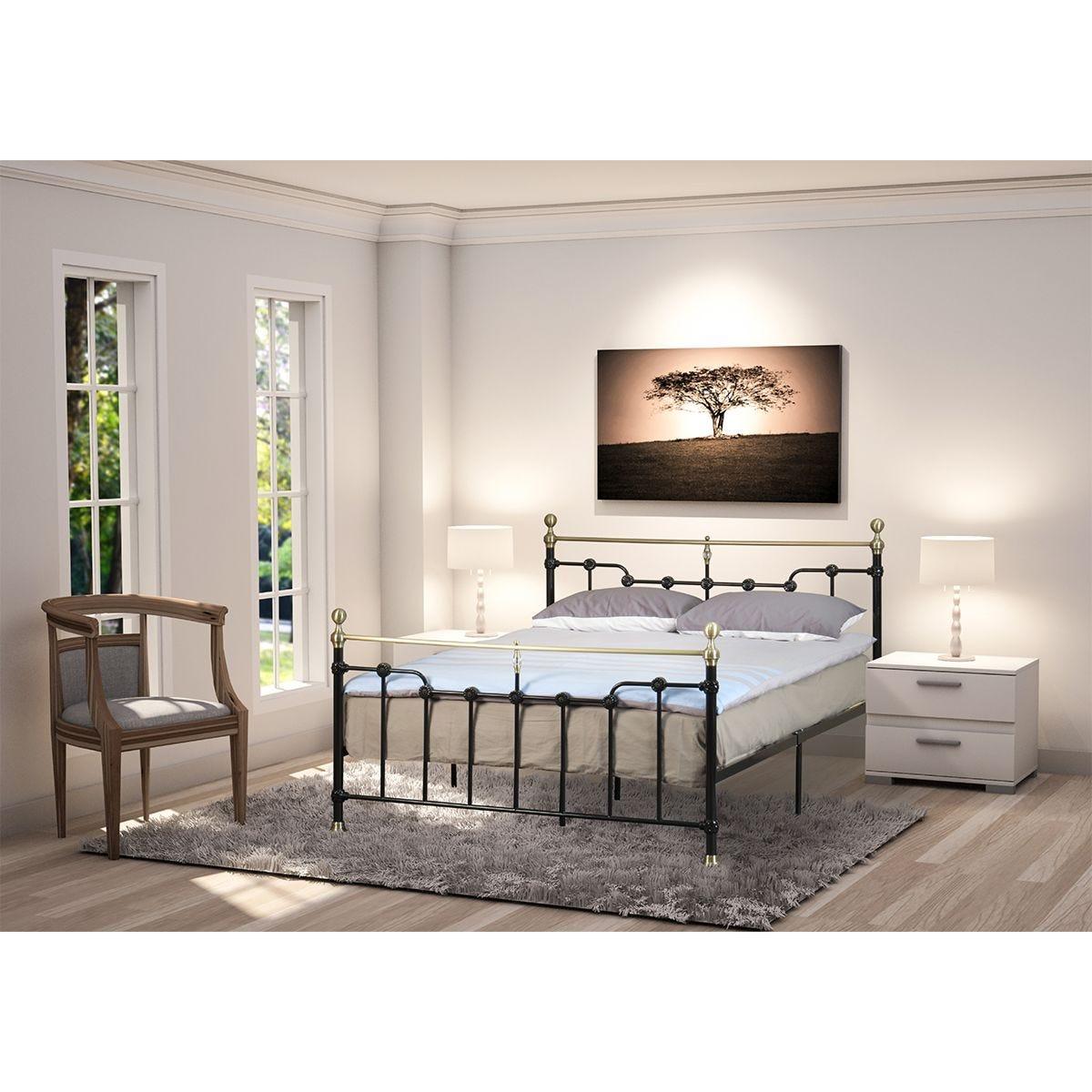 Arabella Metal Bed Frame - Black