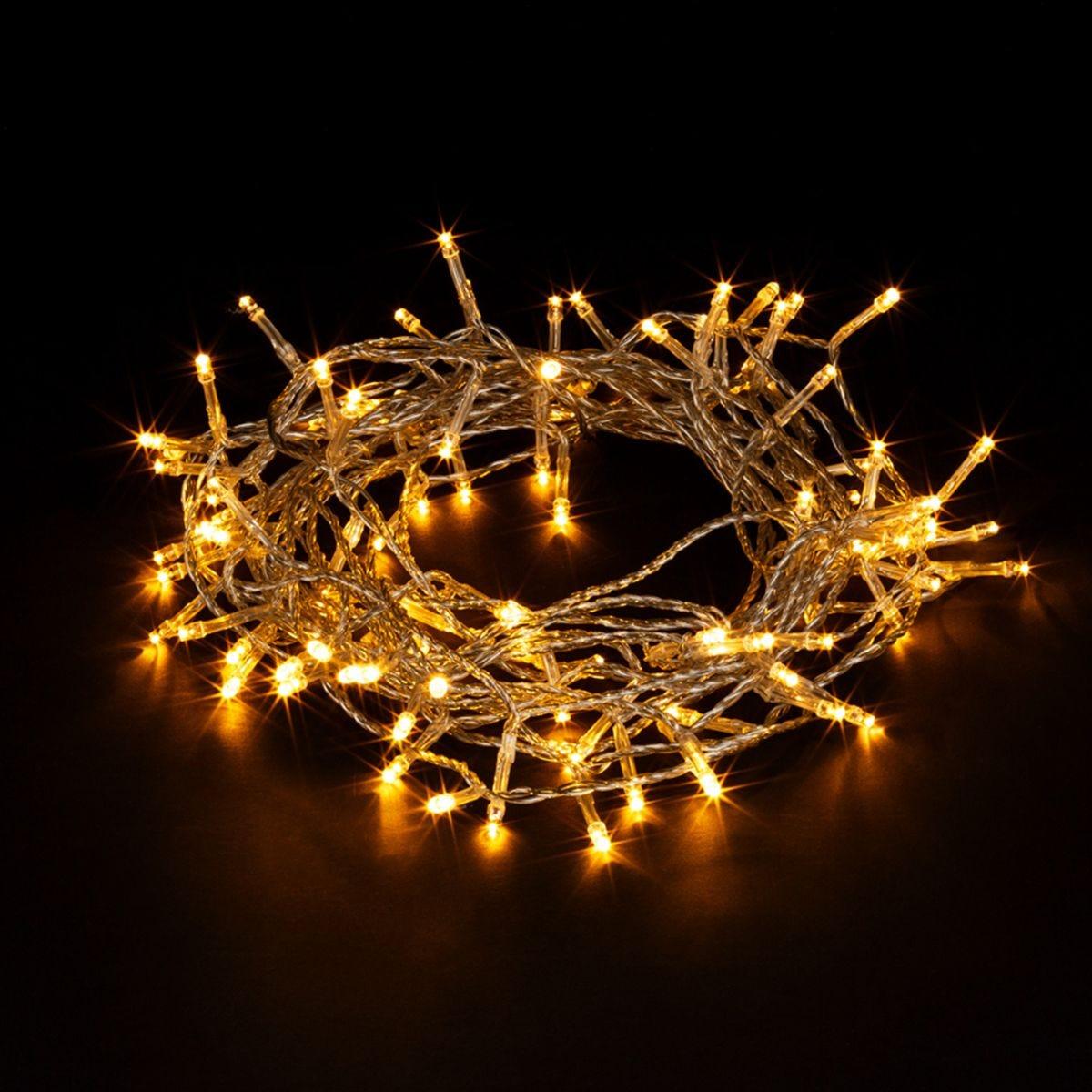 Robert Dyas 400 Translucent String Lights - Warm White