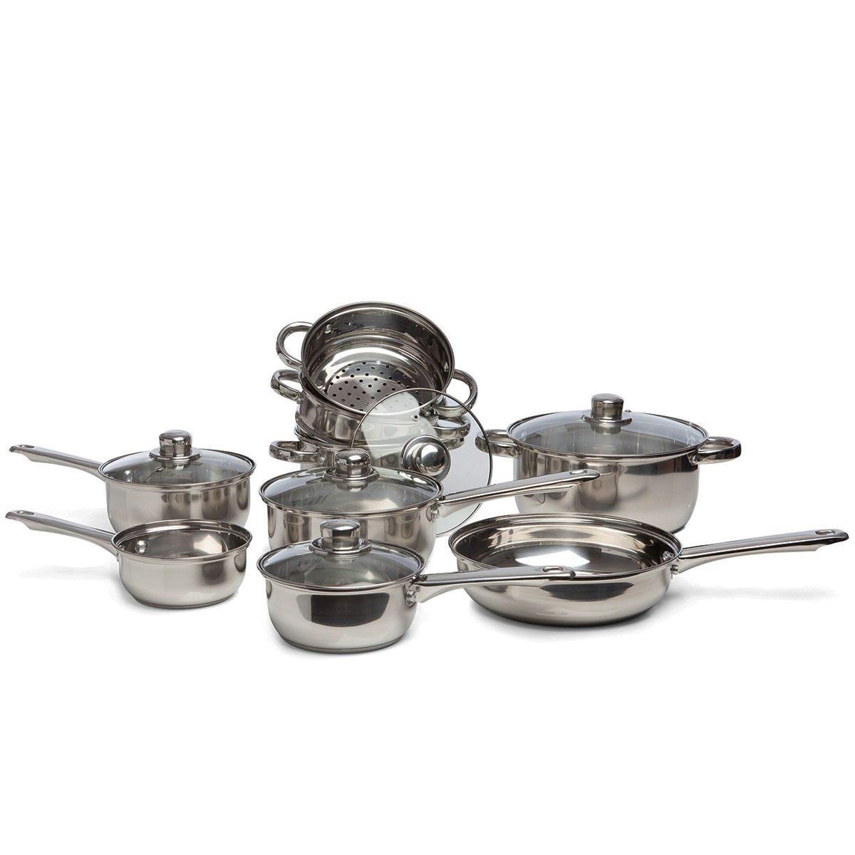 Sabichi Essential 9-Piece Cookware Set