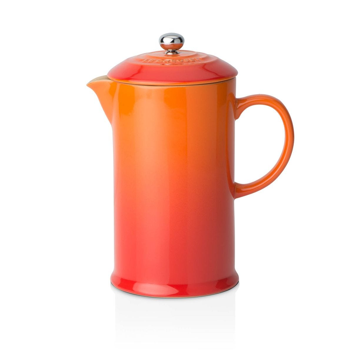 Le Creuset Stoneware Cafetiere with Metal Press Volcanic