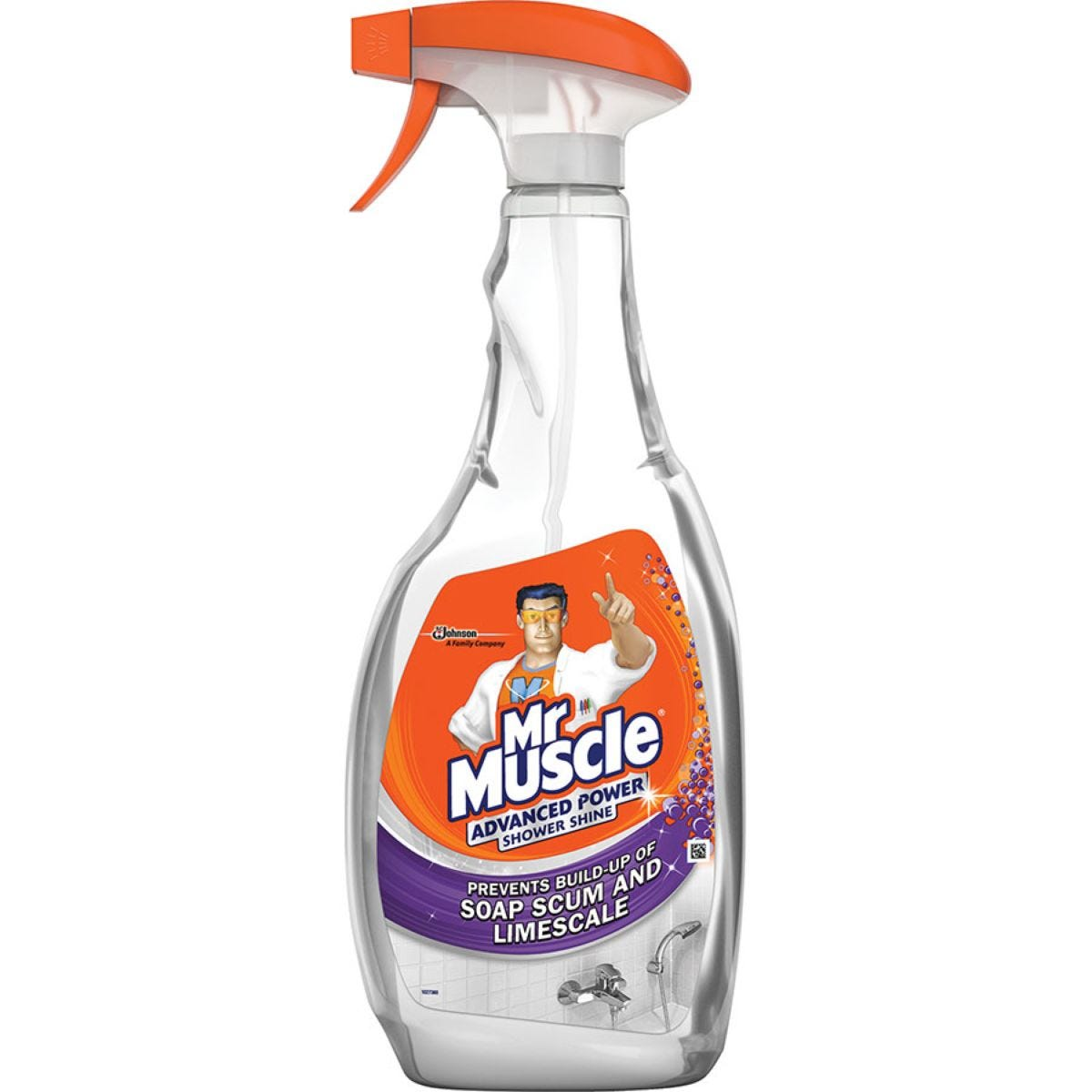 Mr Muscle 750ml Advanced Power Shower Spray