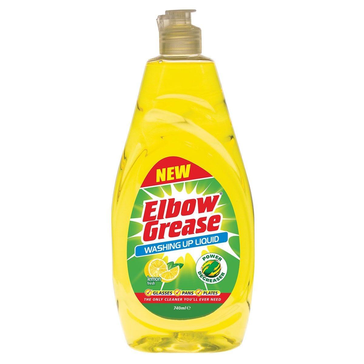 Elbow Grease Washing Up Liquid - 740ml